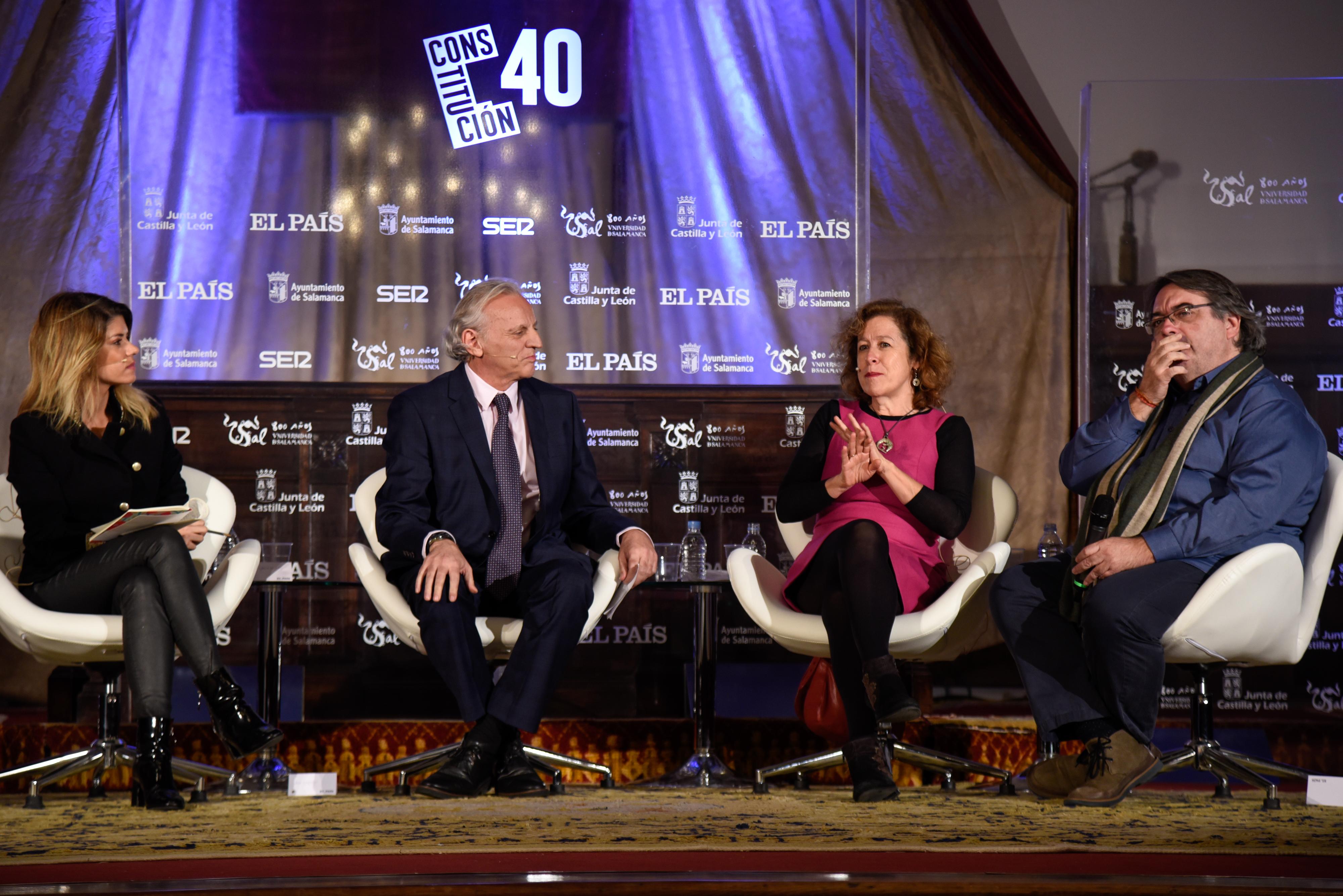La Universidad de Salamanca acoge el debate sobre la Constitución coincidiendo con su 40 aniversario