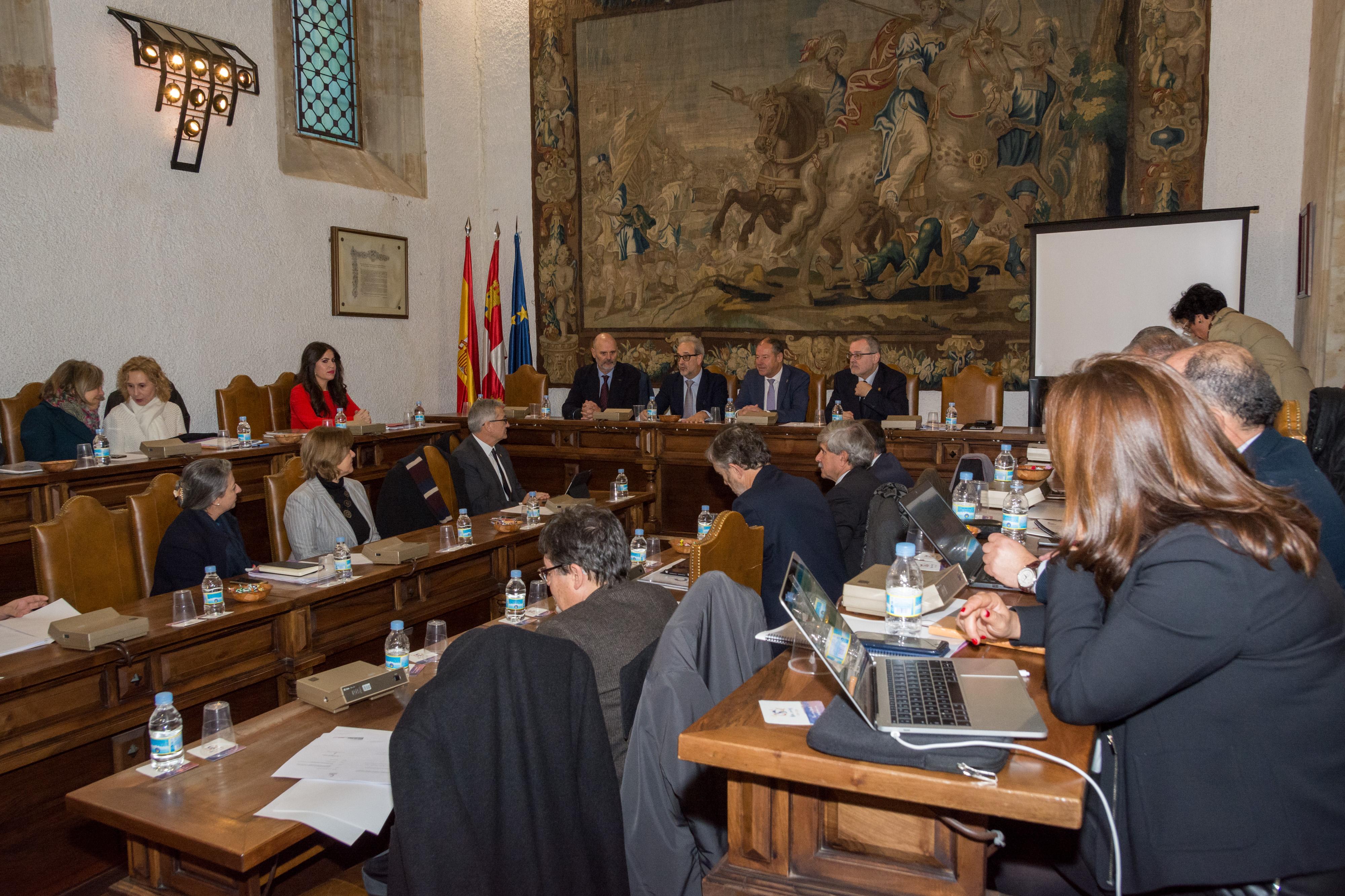 La Universidad de Salamanca acoge el VII Plenario de la Conferencia de Rectores del Suroeste de Europa