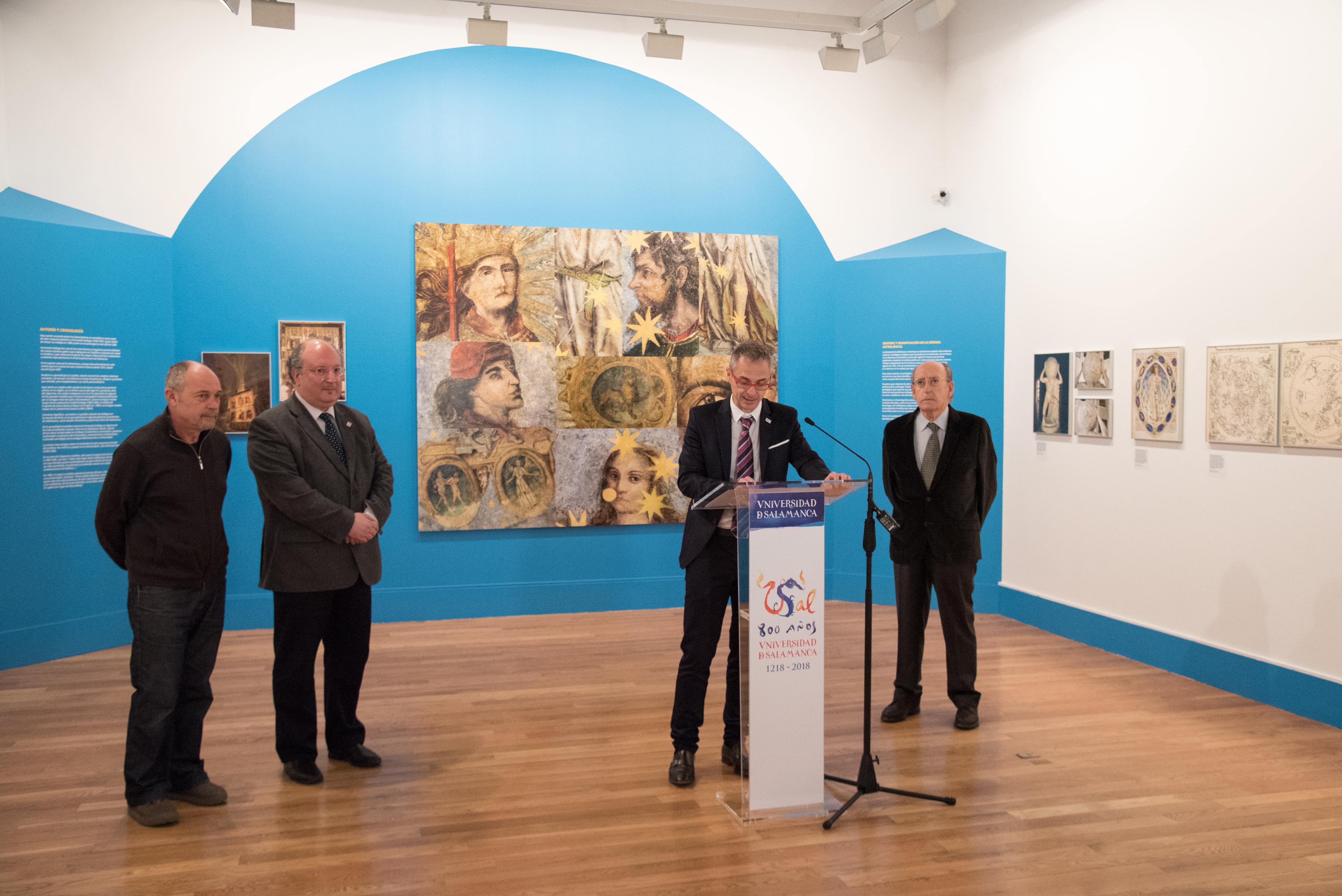 La Universidad de Salamanca presenta la exposición 'El Cielo de Salamanca. Arte y astronomía en la bóveda de la antigua Biblioteca Universitaria'