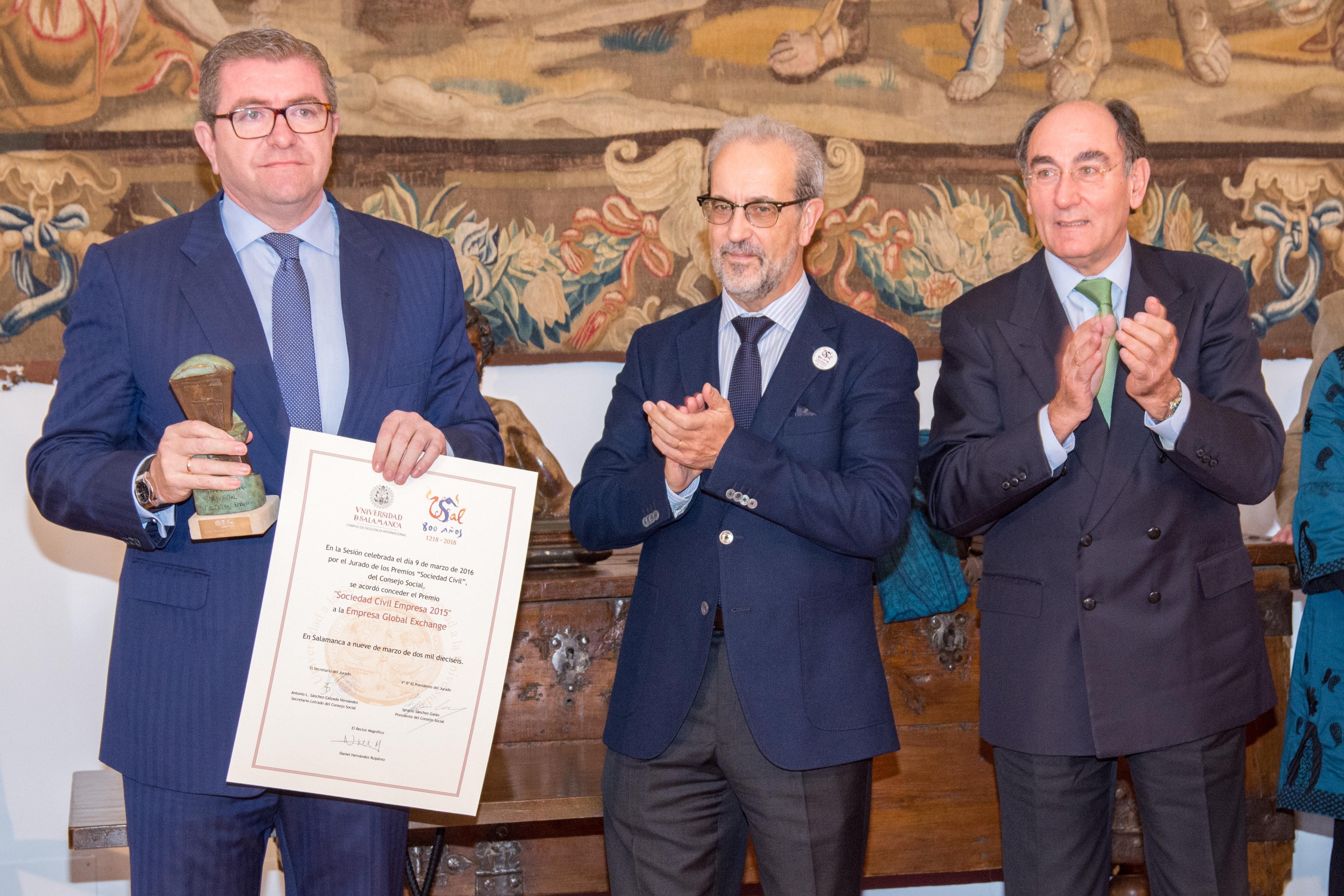 Constituido el nuevo pleno del Consejo Social de la Universidad bajo la presidencia de Ignacio Sánchez Galán para el período 2016-2020