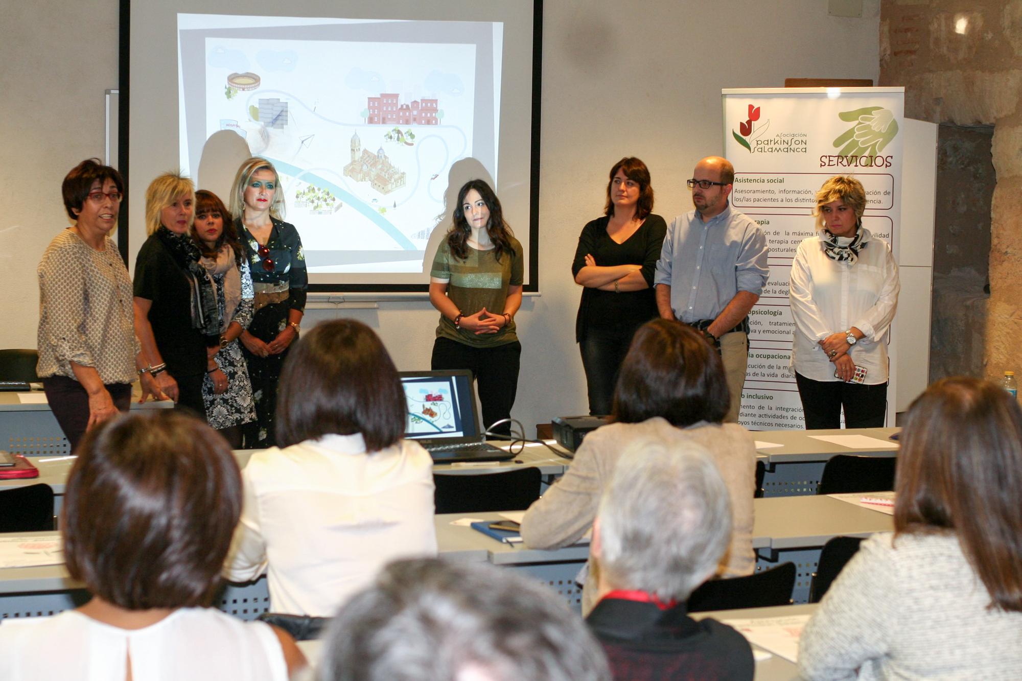 La Universidad de Salamanca reúne a empresas concienciadas con el Párkinson en un encuentro