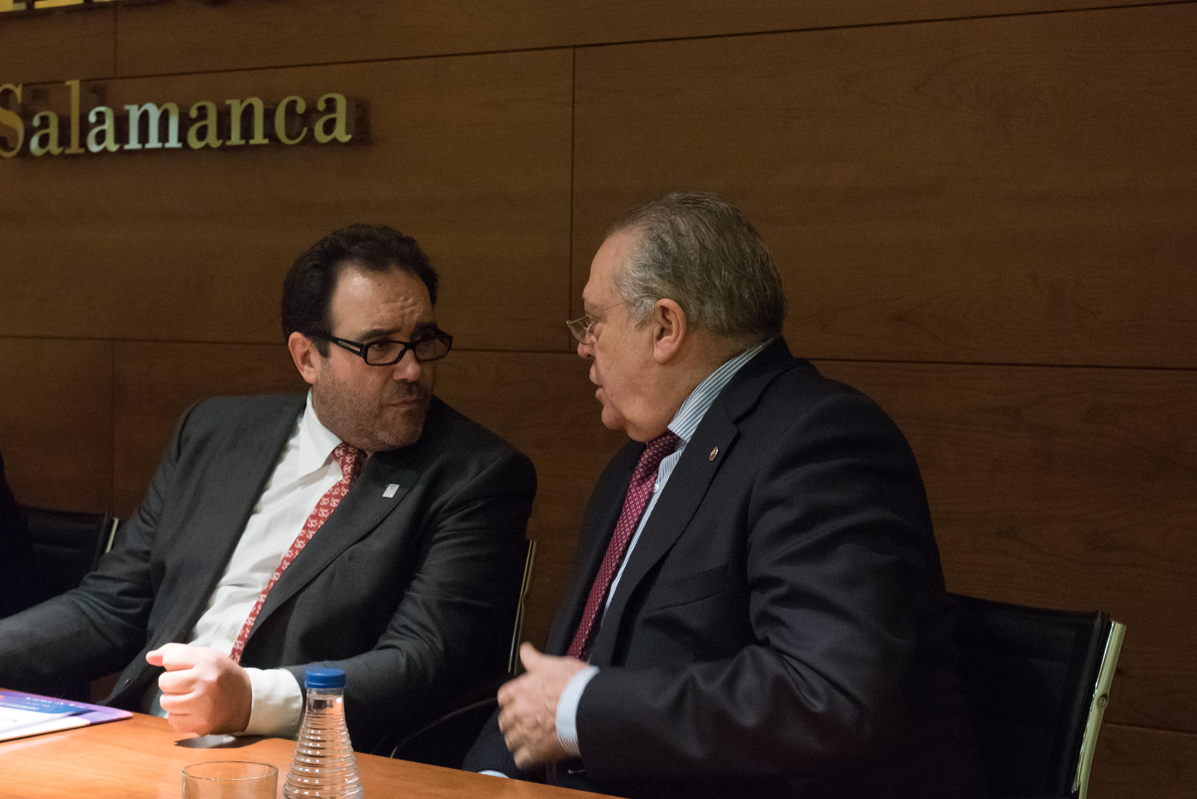 La Universidad de Salamanca y la Cámara de Comercio promueven la colaboración en el marco del VIII Centenario