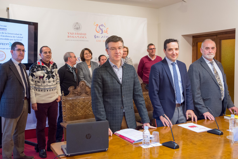 La revista 'Studia Historica. Historia Antigua' publicada por Ediciones Universidad de Salamanca recibe el sello de calidad FECYT
