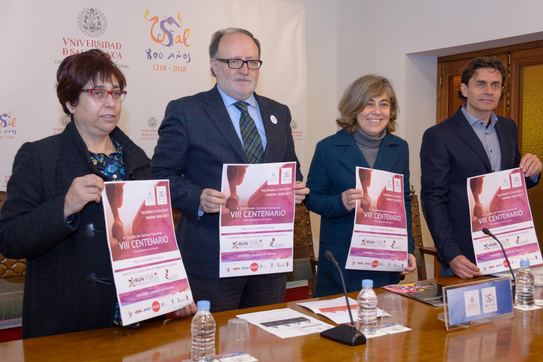 El Circuito de Carreras Populares del VIII Centenario de la Universidad celebra su tercera edición en las ciudades de Salamanca y Zamora