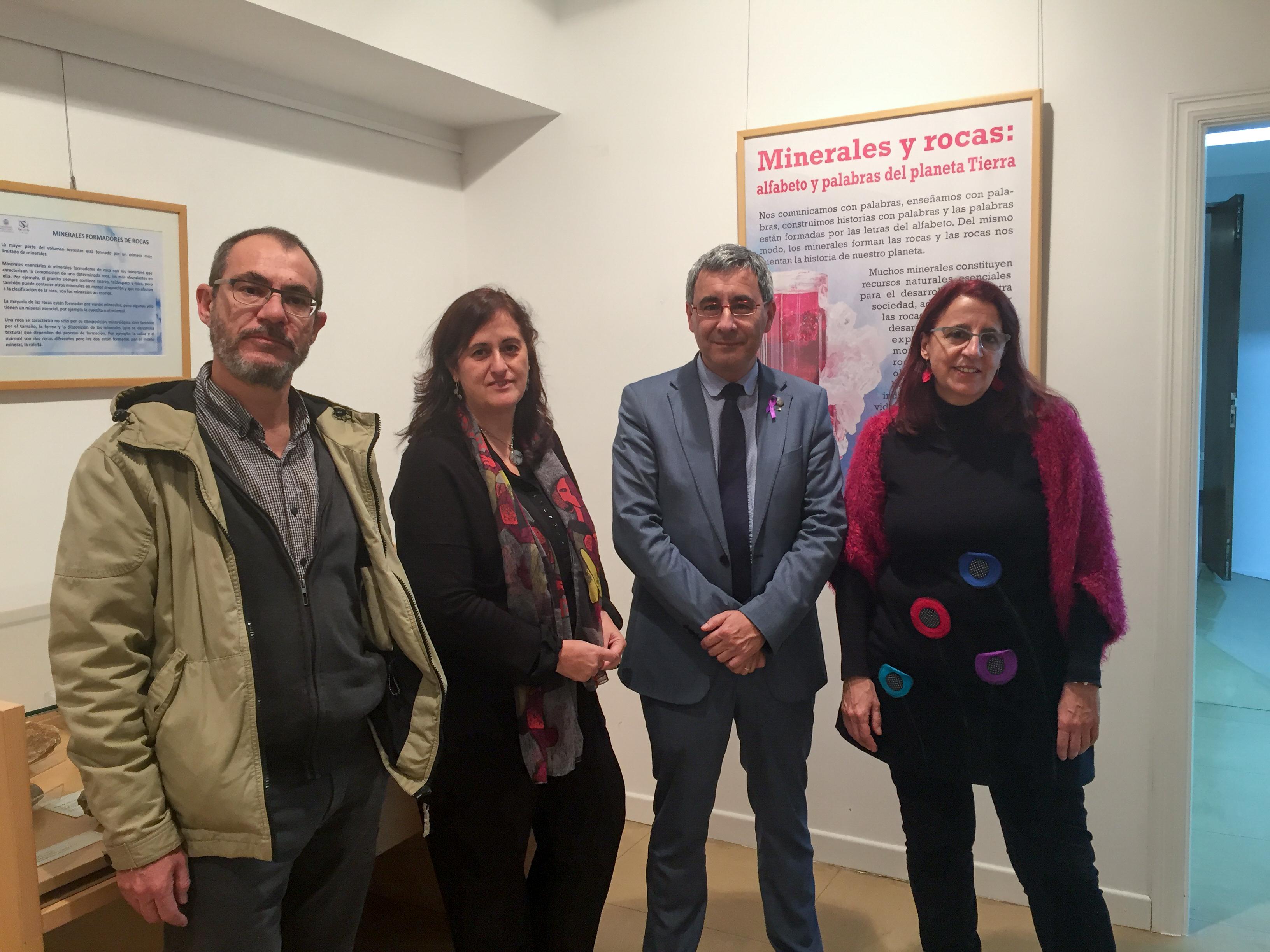 El Departamento de Geología de la Universidad de Salamanca organiza la exposición 'Minerales y rocas: alfabeto y palabras del Planeta Tierra'