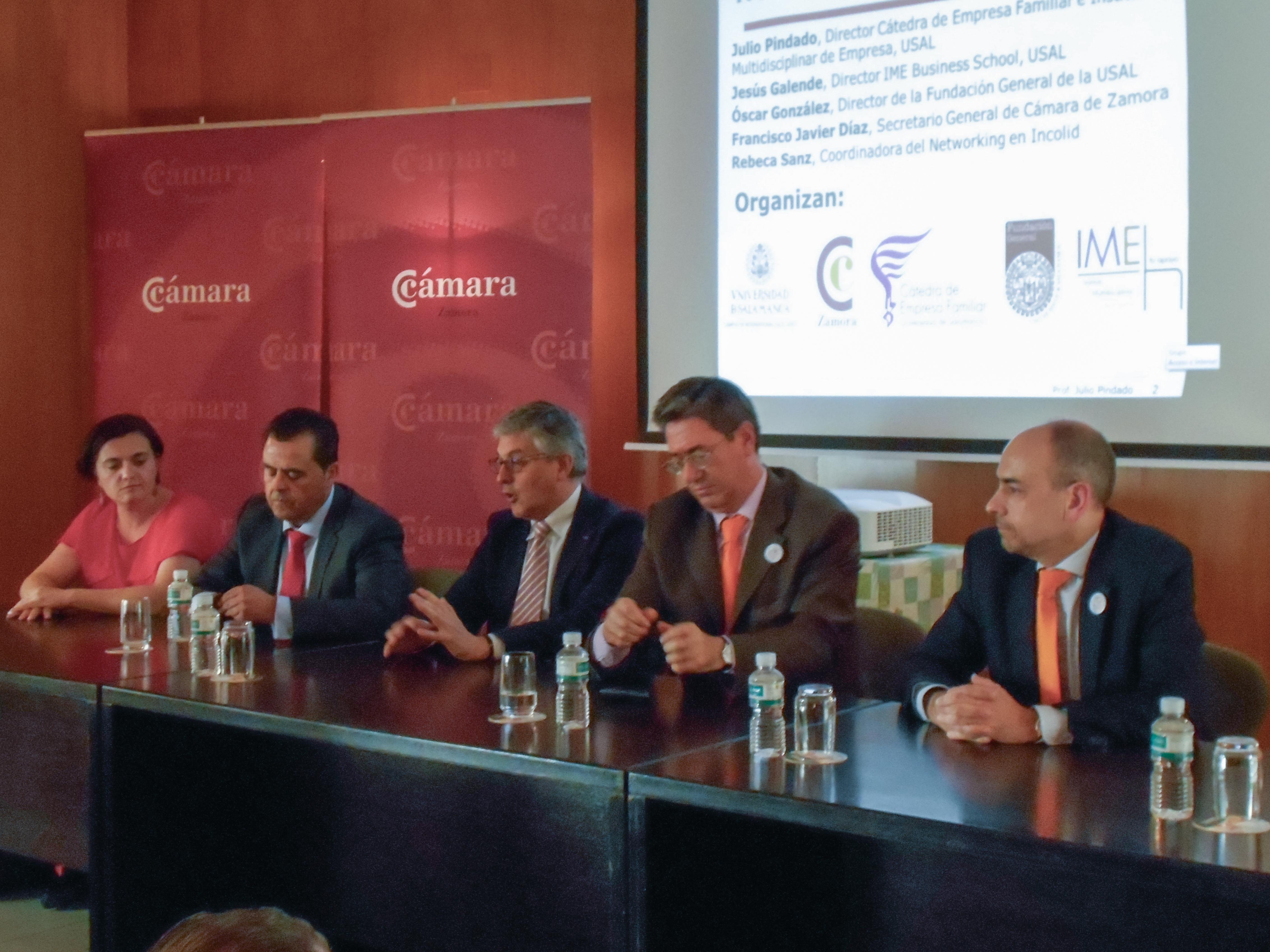El Instituto Multidisciplinar de Empresa organiza un encuentro empresarial en Zamora