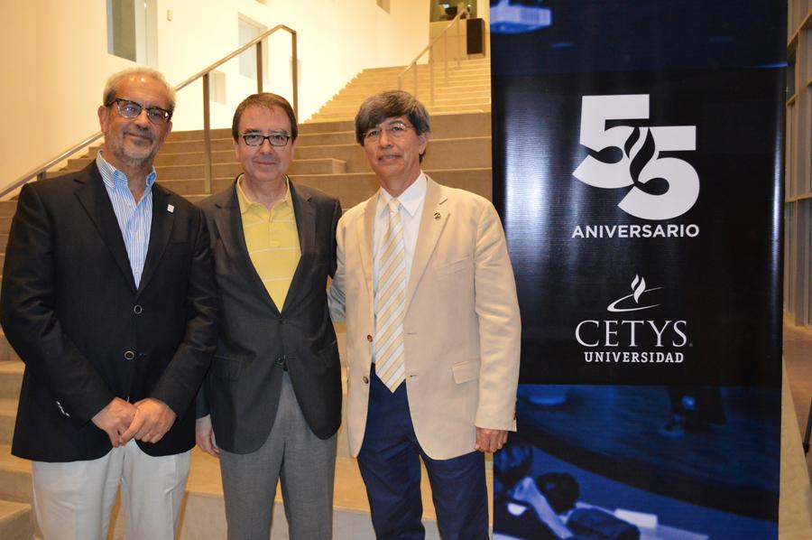 El rector participó en los actos de celebración del 55 aniversario de CETYS Universidad