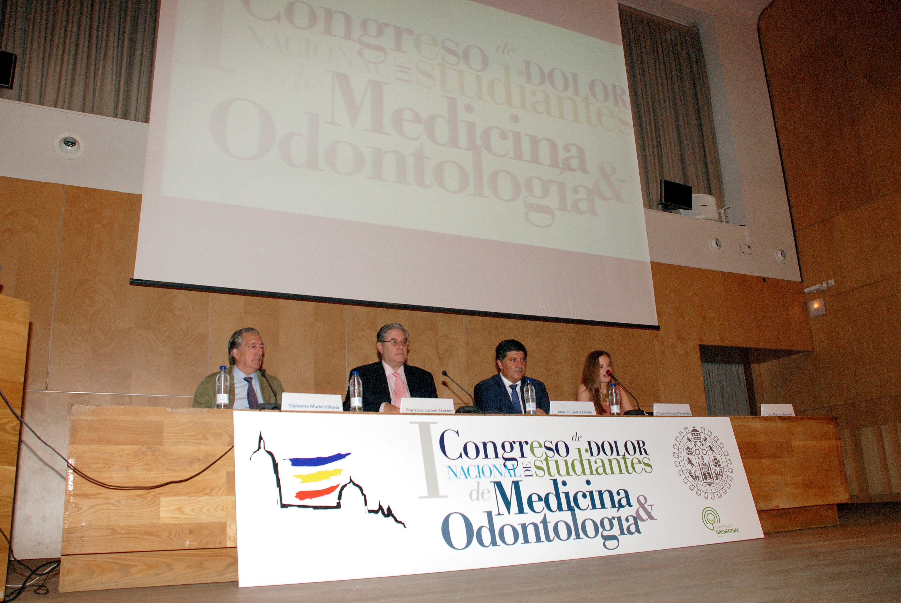 La Universidad de Salamanca acoge el I Congreso nacional de dolor para estudiantes de Medicina y Odontología
