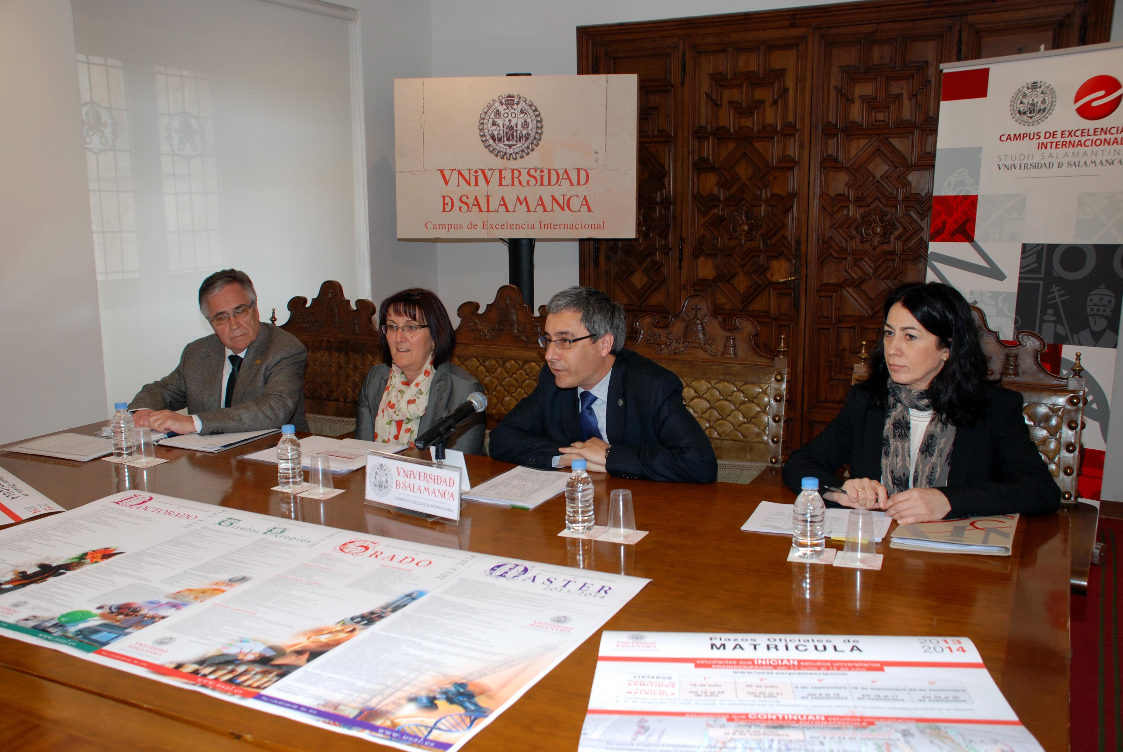 La Universidad de Salamanca afronta el proceso de preinscripción con una oferta integral y dirigida a la inserción profesional