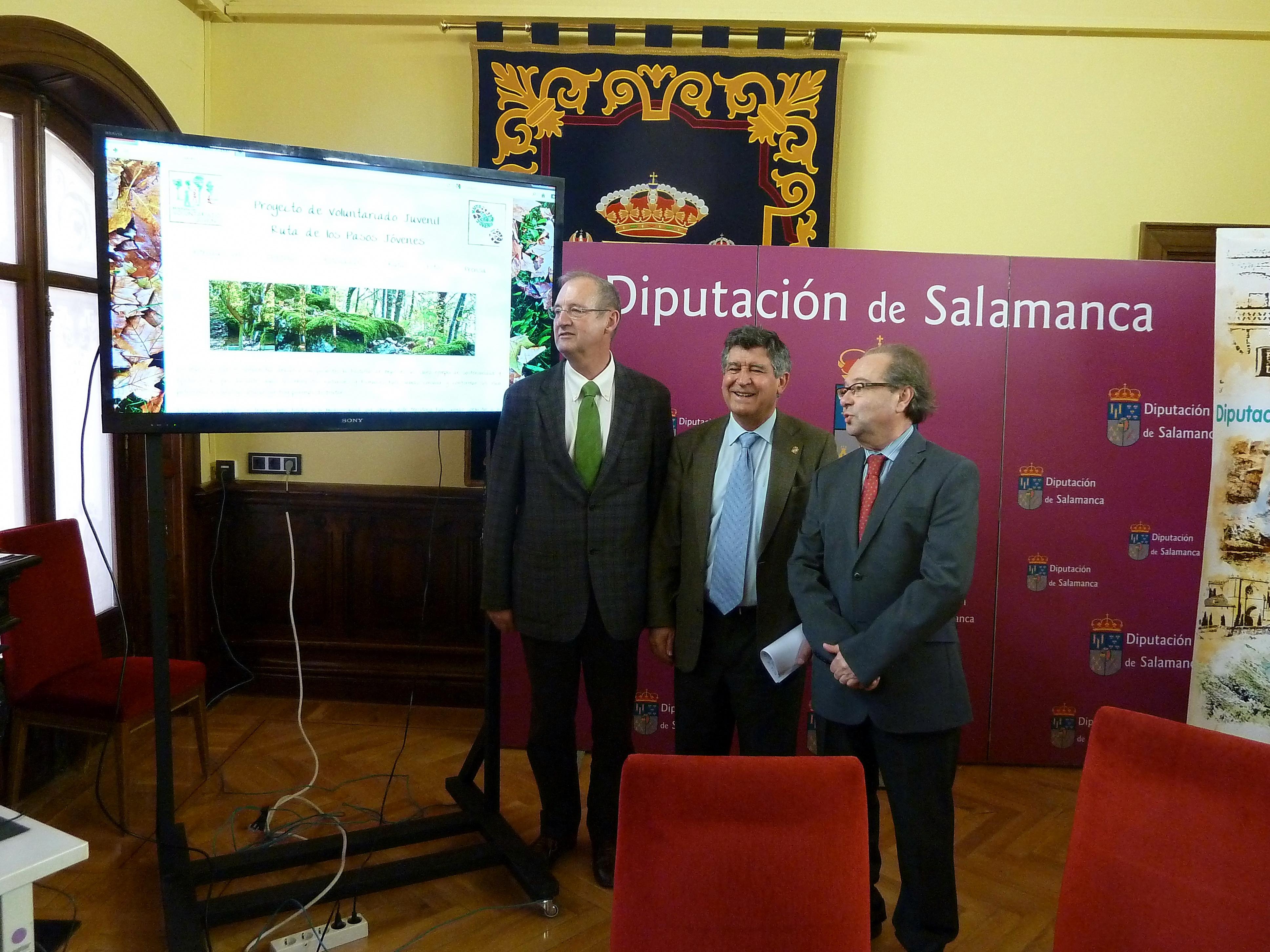 La Oficina Verde desarrolla la web del proyecto 'Los Pasos Jóvenes. Béjar', del Programa de Voluntariado Juvenil suscrito entre la Universidad y la Diputación de Salamanca
