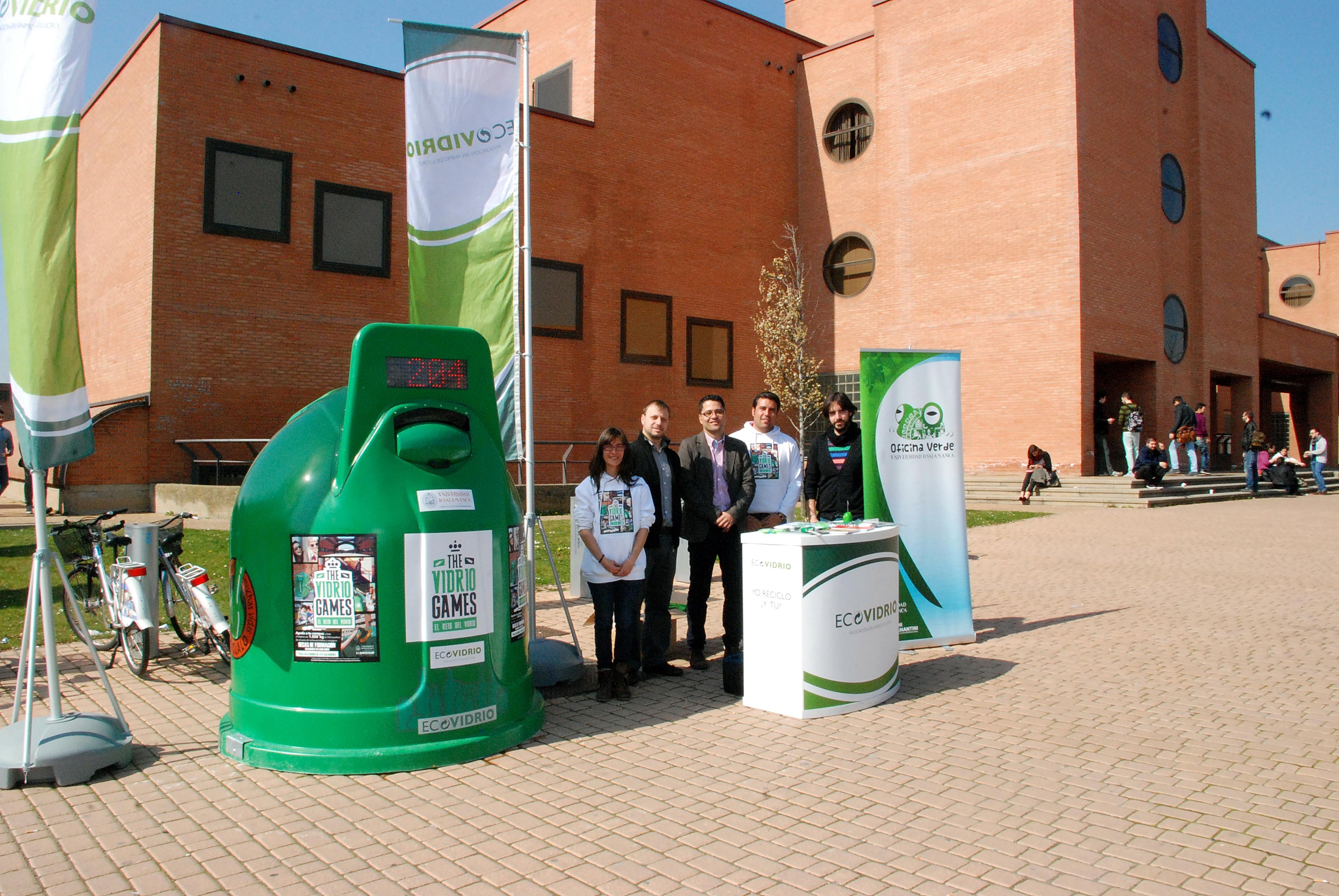 La Oficina Verde Universidad de Salamanca anima a sus estudiantes a colaborar en el reciclaje de vidrio con 'The vidrio games'