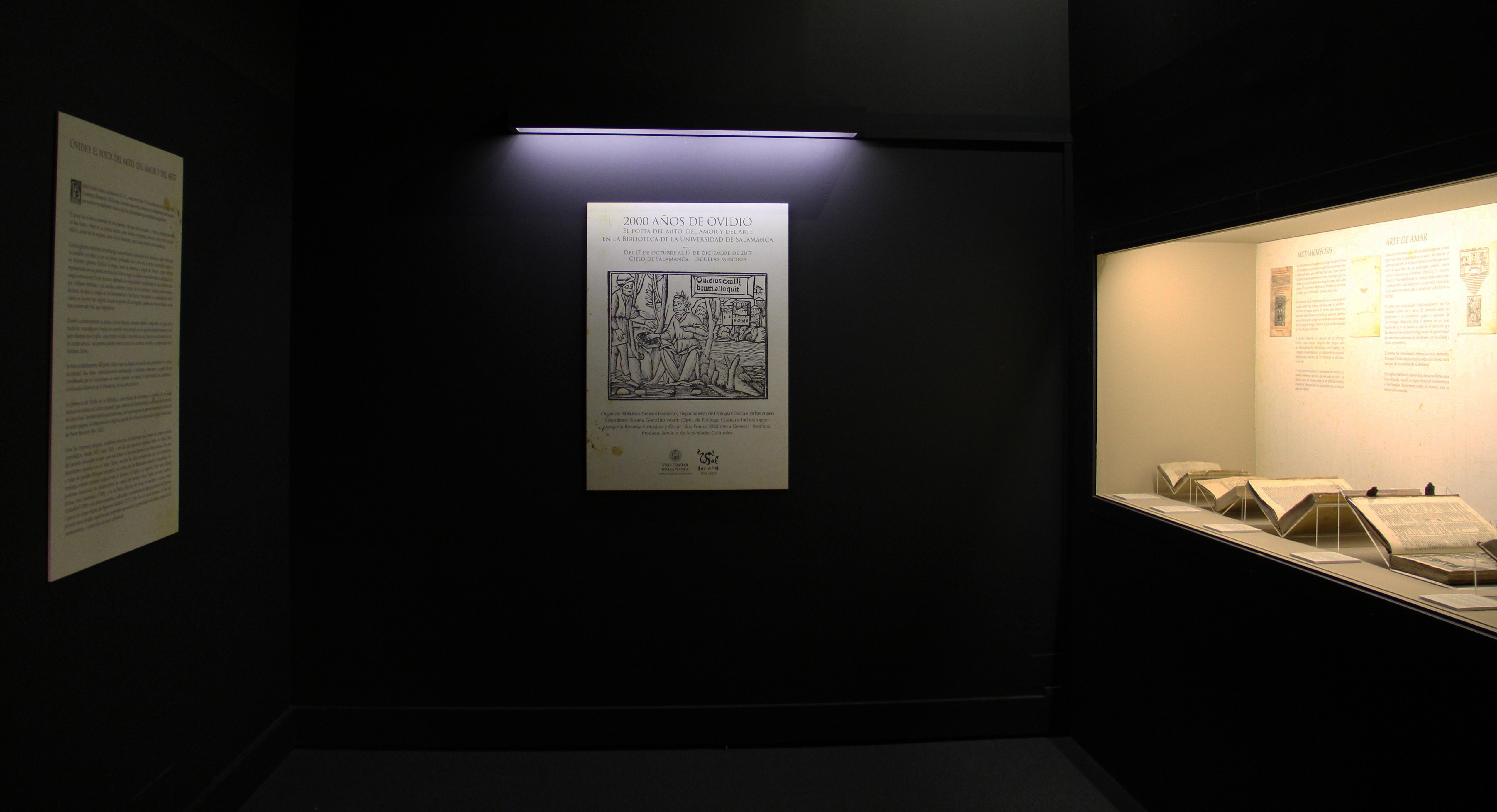 La exposición '2000 años de Ovidio: el poeta del mito, del amor y del arte' repasa las aportaciones del autor romano a la cultura occidental