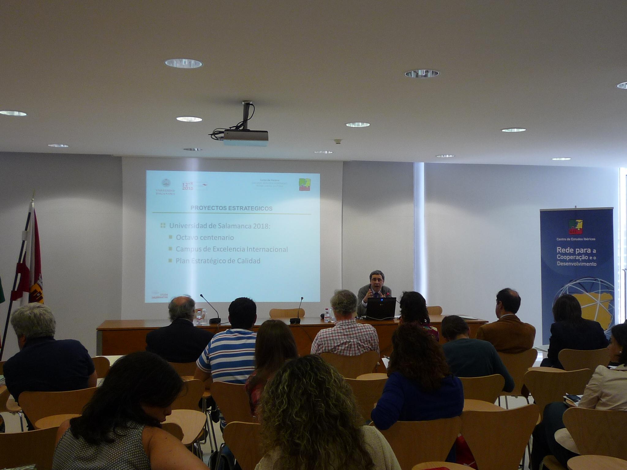 El vicerrector de Docencia participa en Guarda en el Curso de Verano 'Diálogos ibéricos y cooperación. Tierras, gentes, culturas'