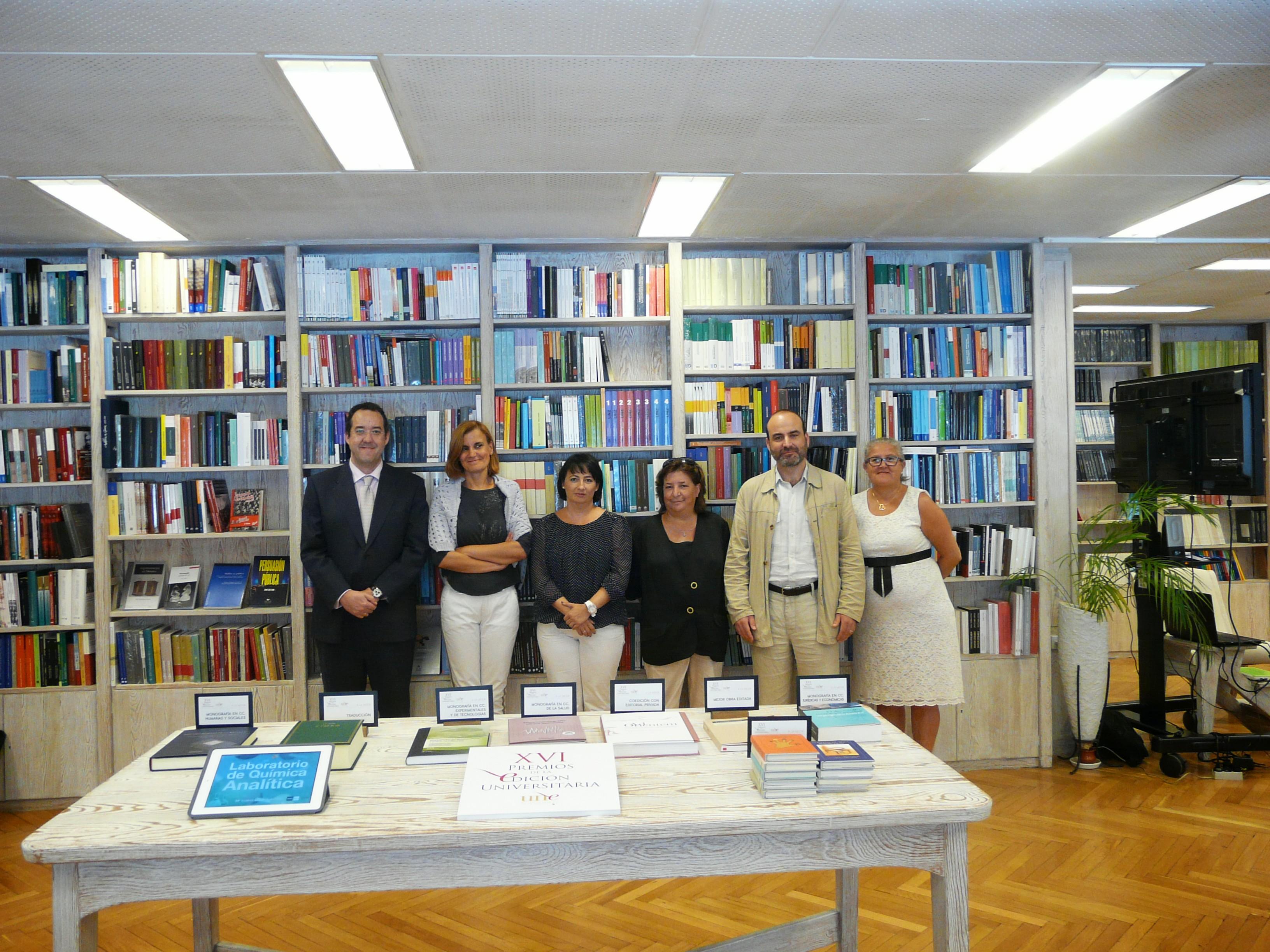 La Universidad Salamanca consigue dos galardones en los XVI Premios Nacionales de Edición Universitaria