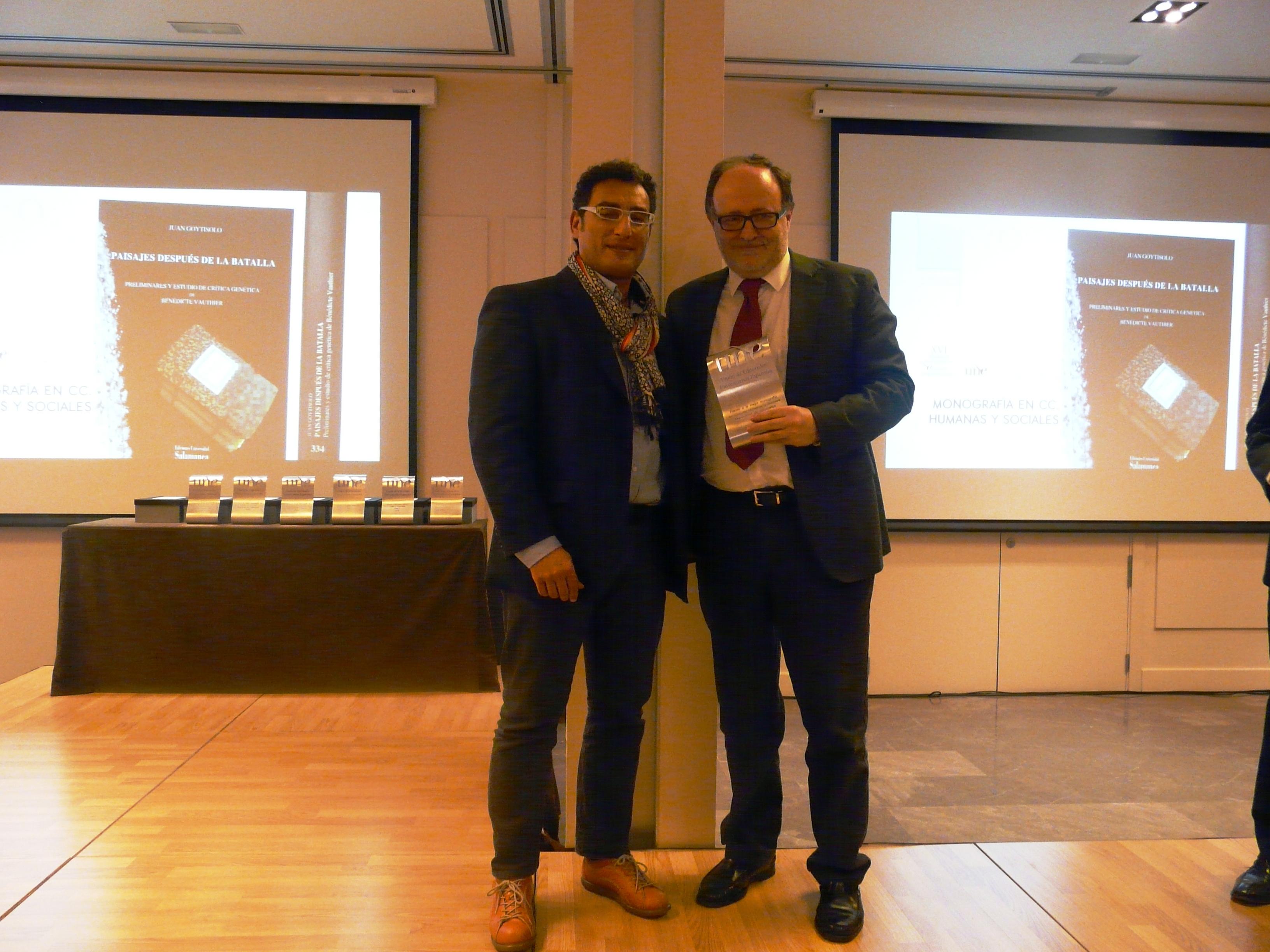 La Universidad de Salamanca galardonada en los XVI Premios Nacionales de Edición Universitaria