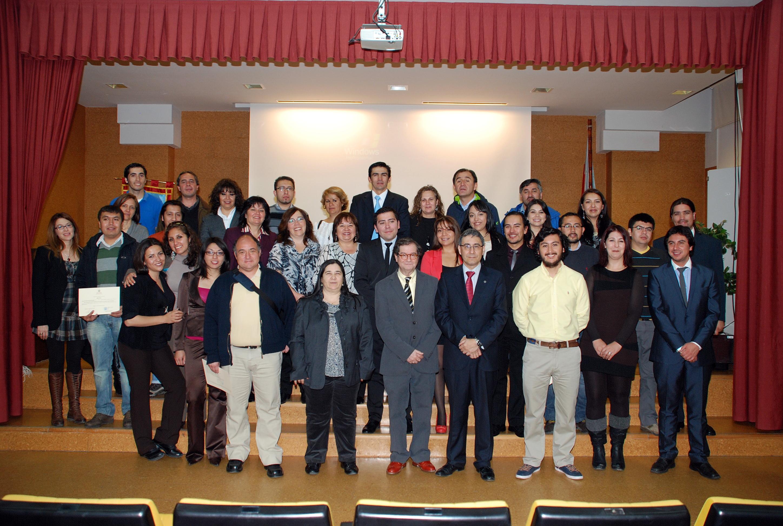 Treinta profesores chilenos, becados por su país, concluyen su pasantía en Matemáticas en la Universidad de Salamanca