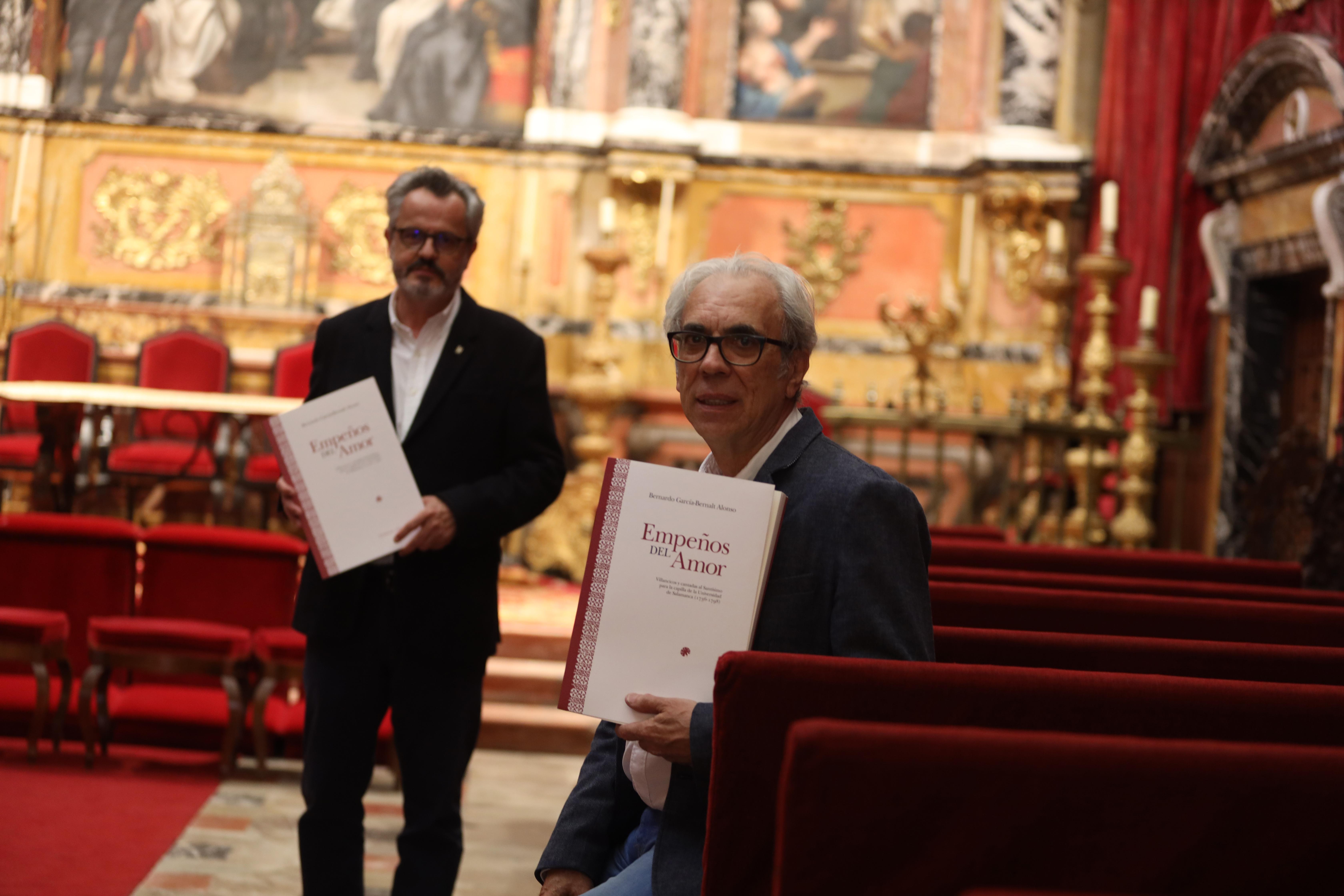 José Antonio Sánchez Paso y Bernardo García-Bernalt