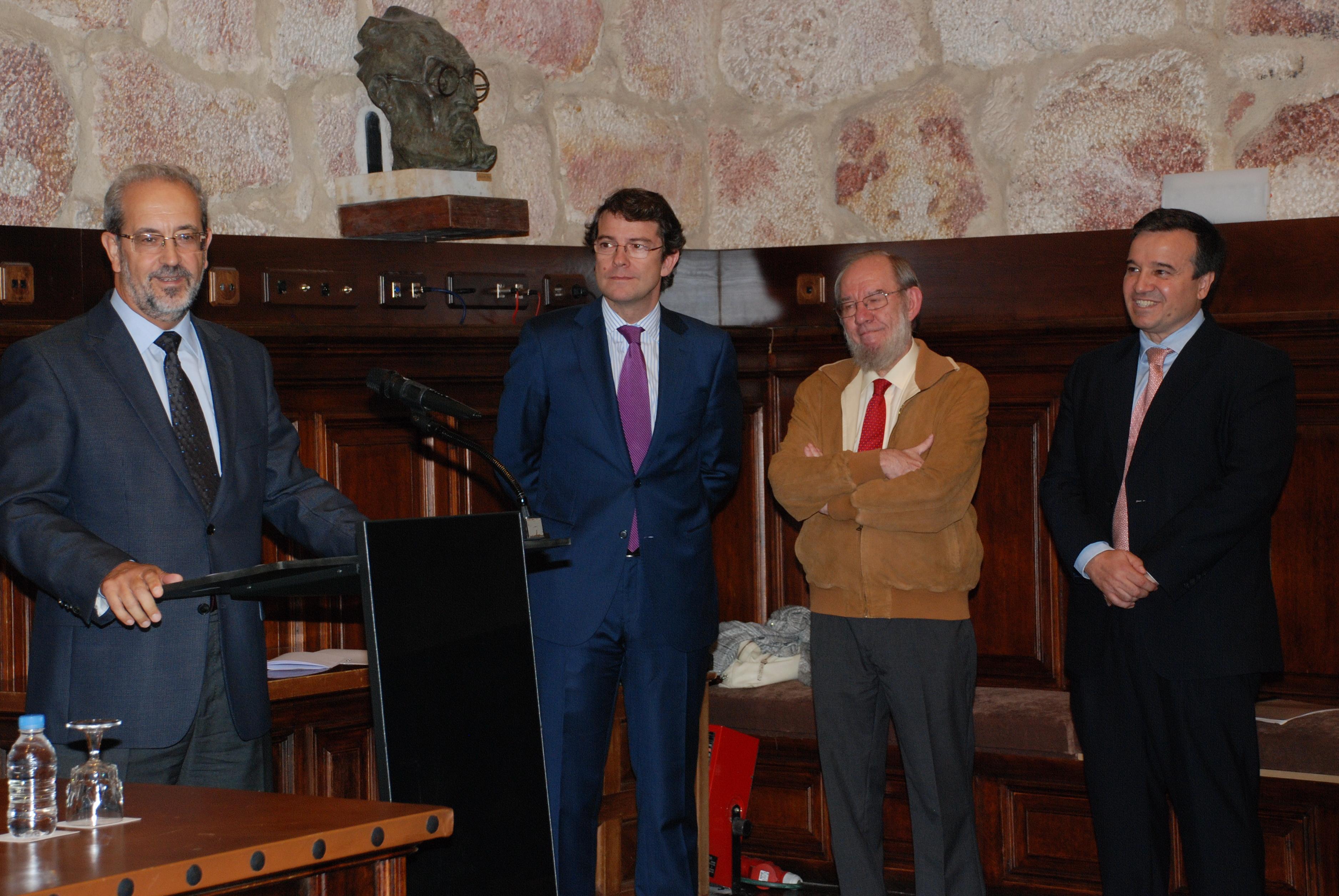 Homenaje a Juan Antonio Pérez Millán, director de la Filmoteca de Castilla y León, con motivo de su jubilación