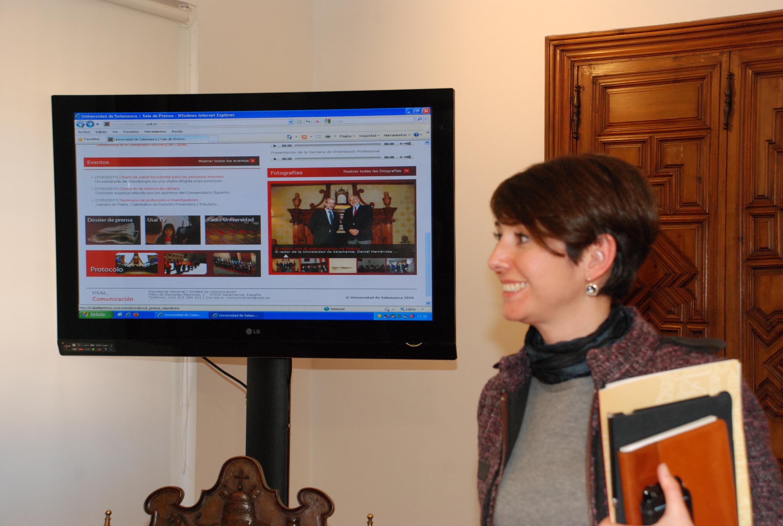 Presentación de la sala de prensa digital