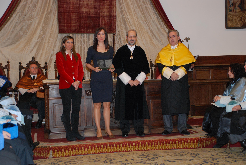 Entrega del Premio Fundación Grünenthal a la Investigación en Dolor 2011.