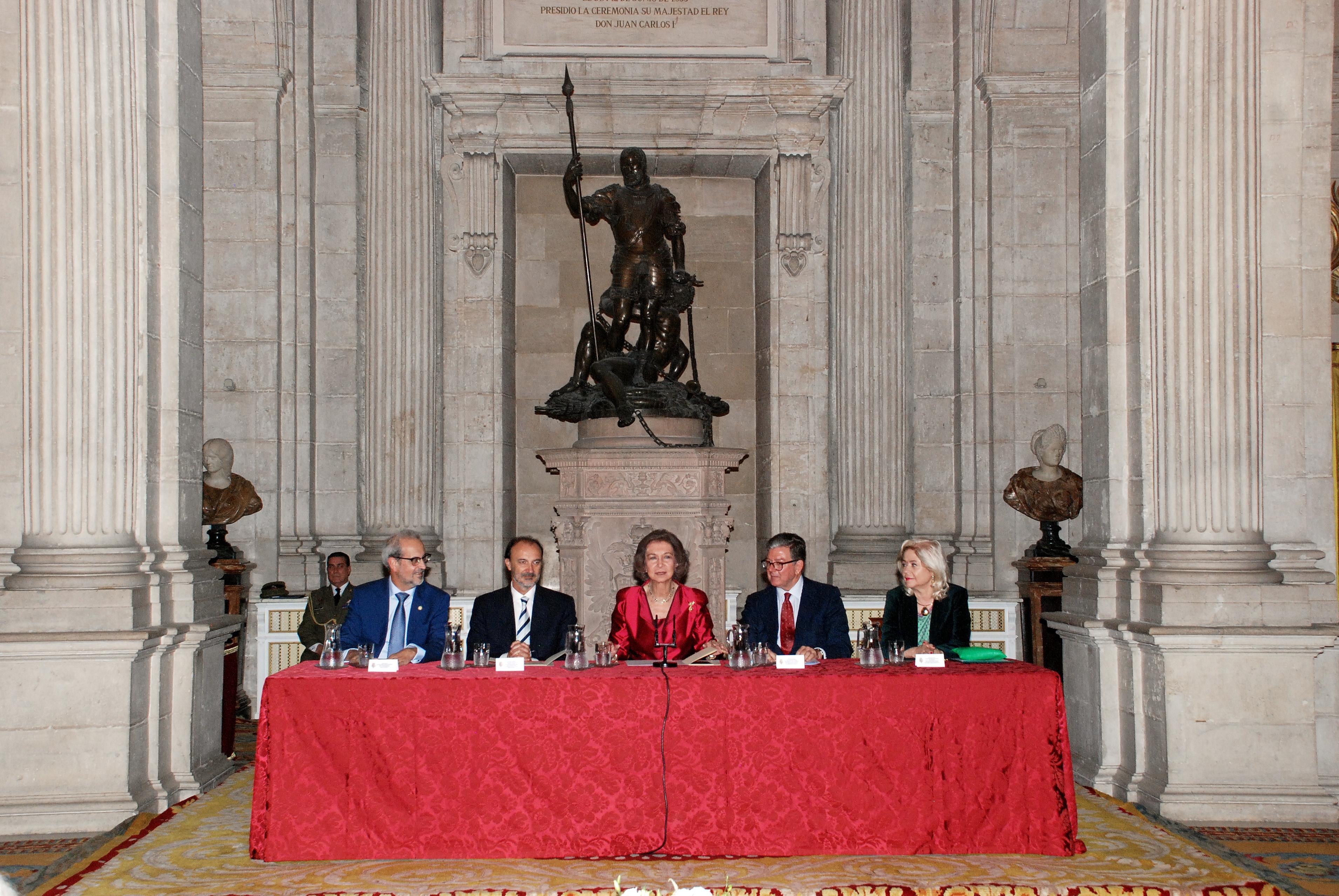 La escritora uruguaya Ida Vitale recibe emocionada el XXIV Premio Reina Sofía de Poesía Iberoamericana