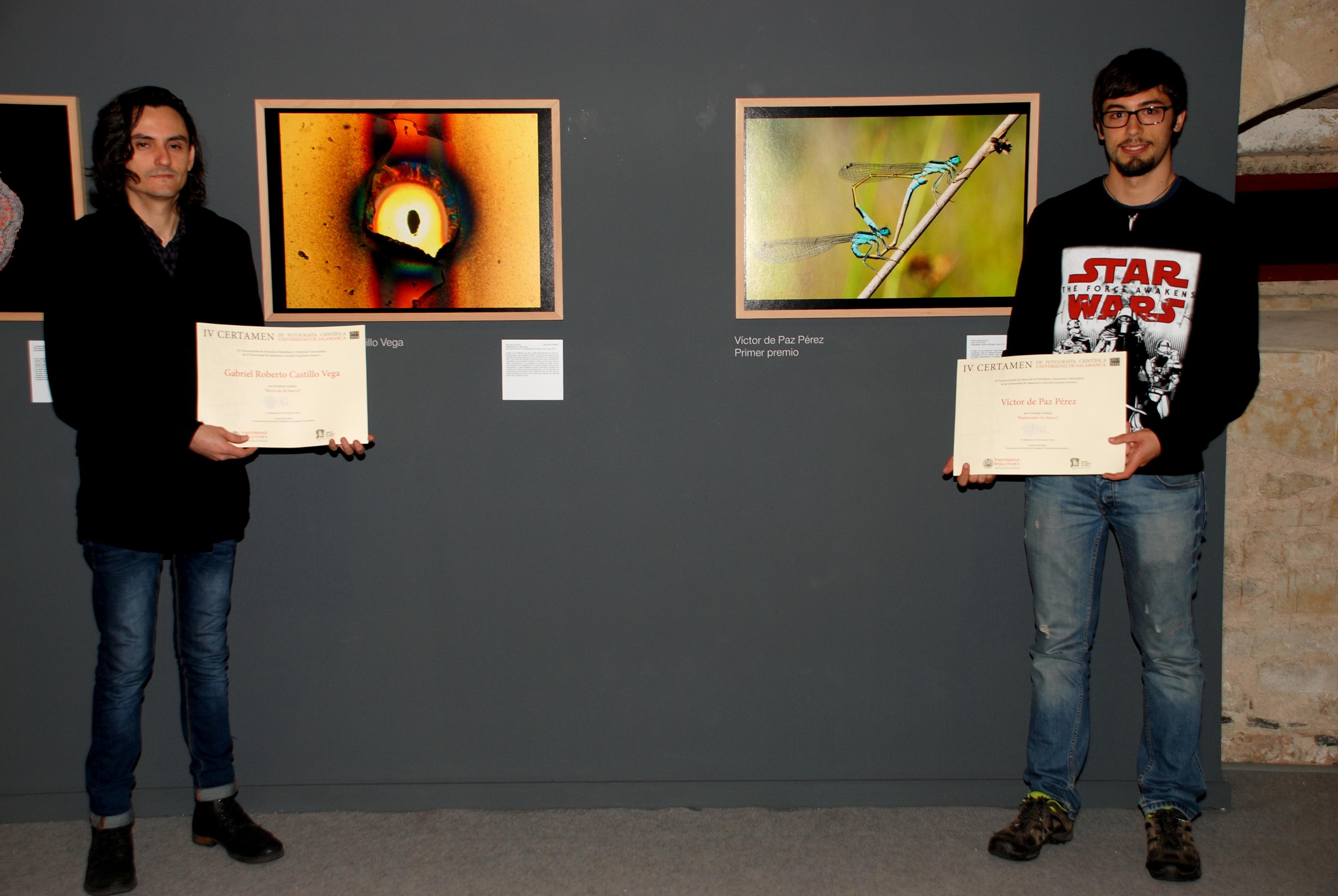 El Servicio de Actividades Culturales entrega los premios del IV Certamen de Fotografía Científica