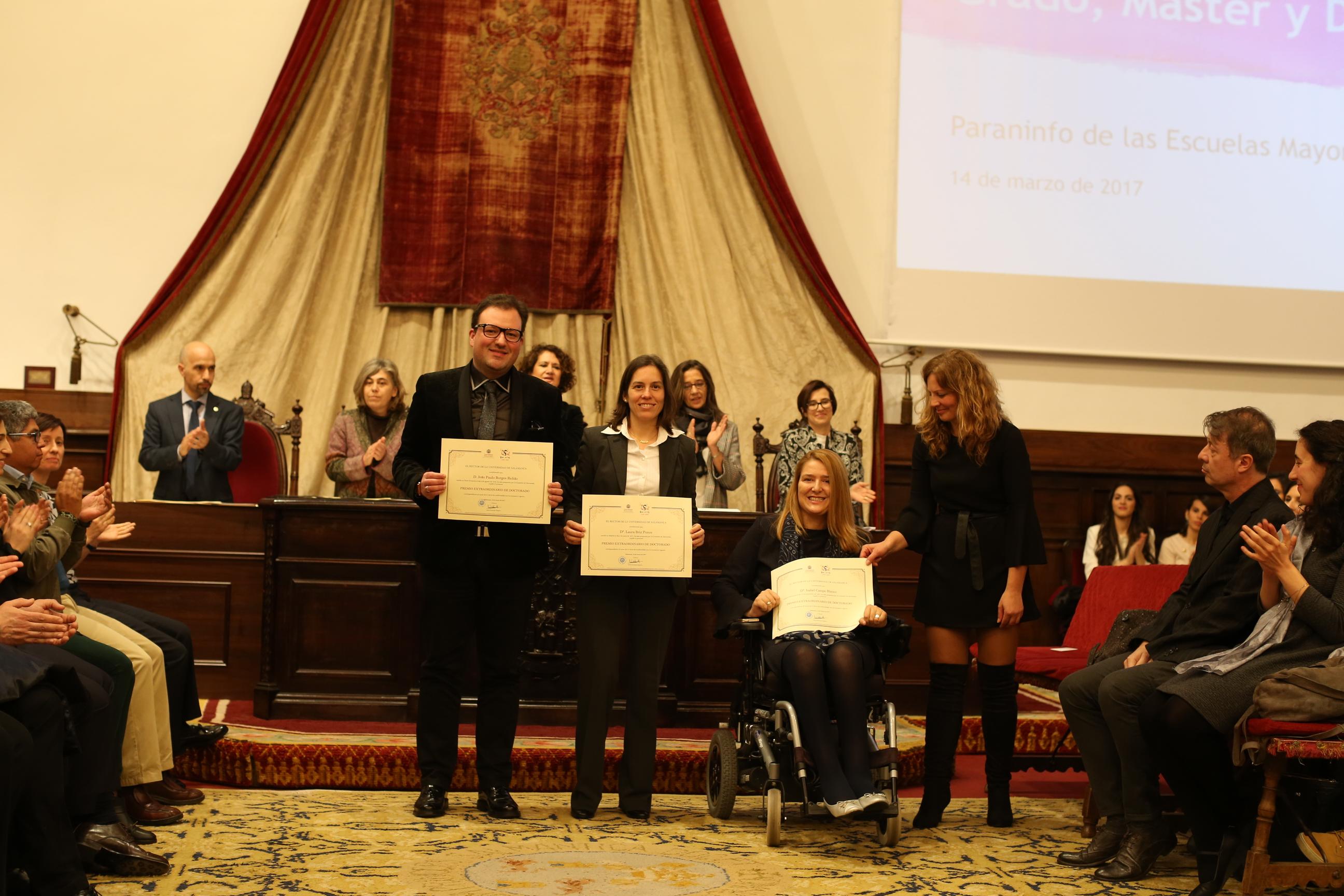 Fotografía de Premio Extraordinario de Doctorado 1