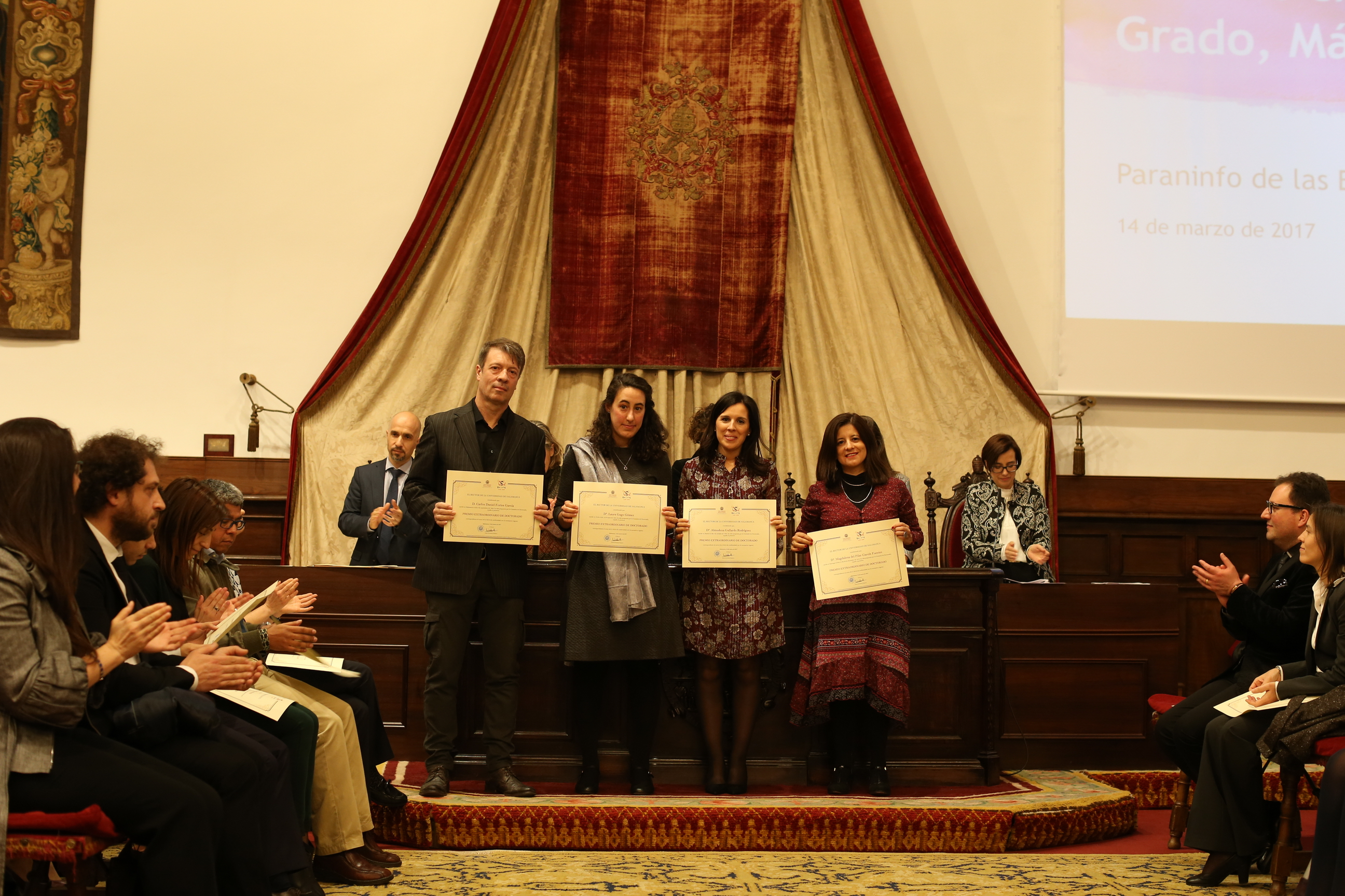 Fotografía de Premio Extraordinario de Doctorado 3