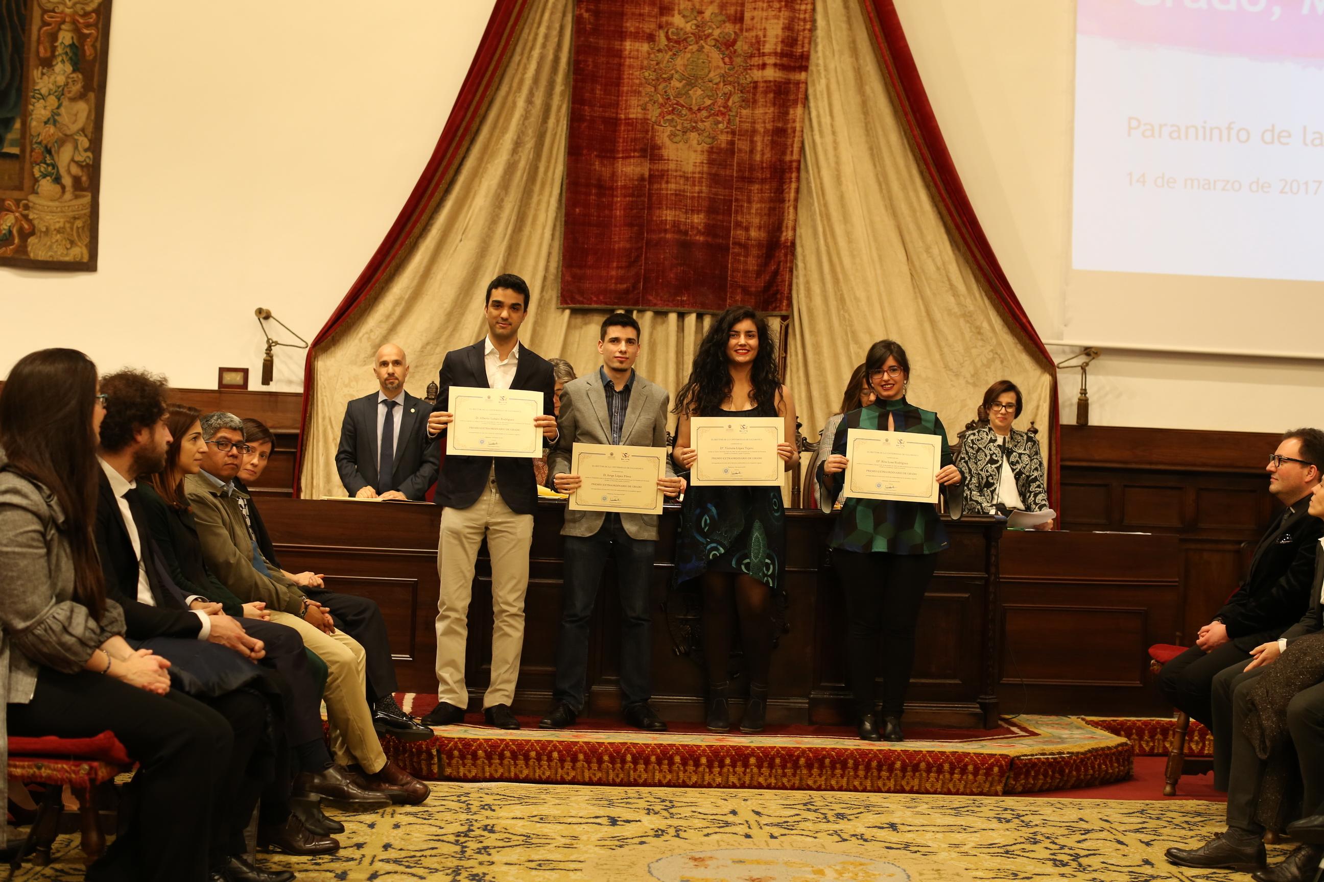 Fotografía de Premio Extraordinario de Grado y de Grado de Salamanca 8