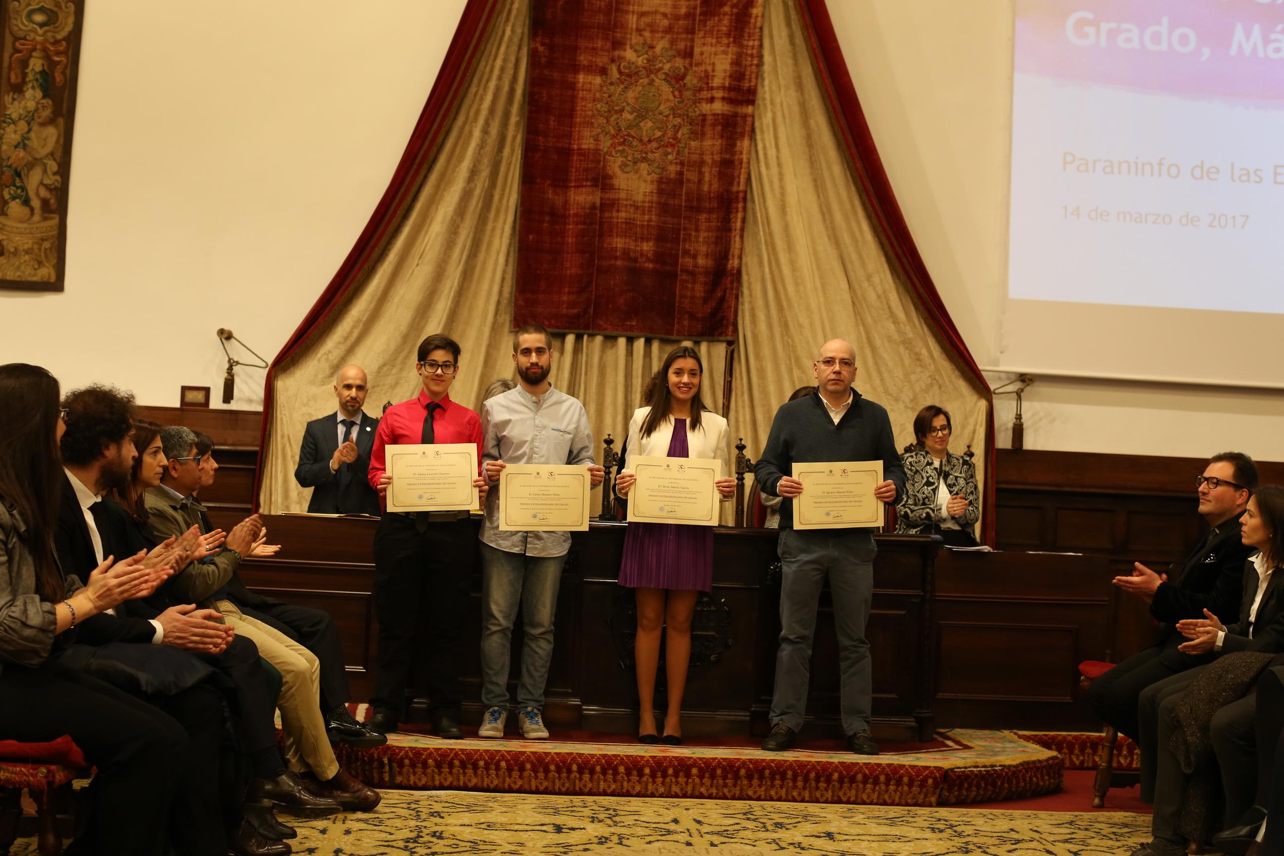 Fotografía de Premio Extraordinario de Grado y de Grado de Salamanca 9