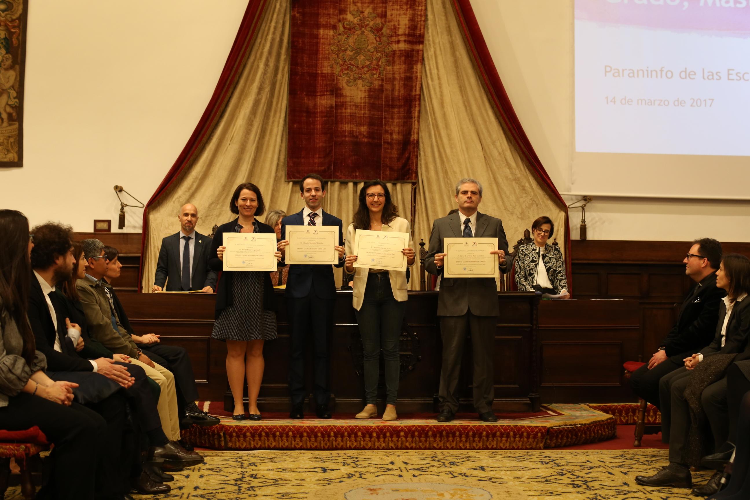 Fotografía de Premio Extraordinario de Grado y de Grado de Salamanca 13