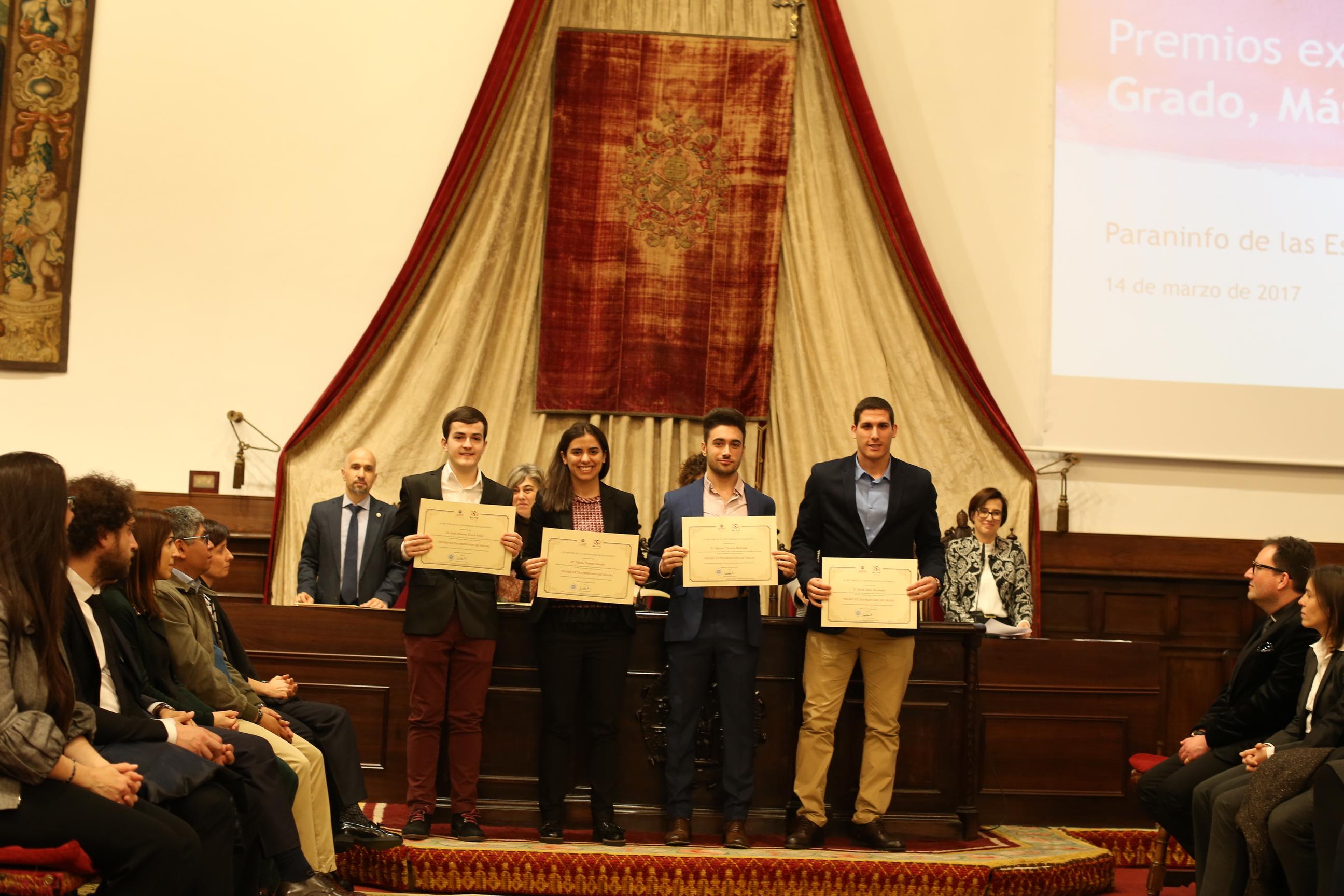 Fotografía de Premio Extraordinario de Grado y de Grado de Salamanca 16