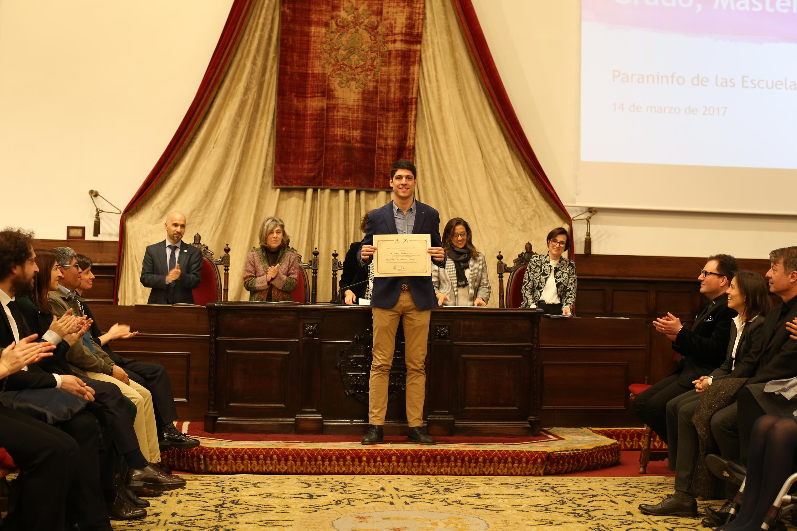 Fotografía de Premio Extraordinario de Grado y de Grado de Salamanca 17