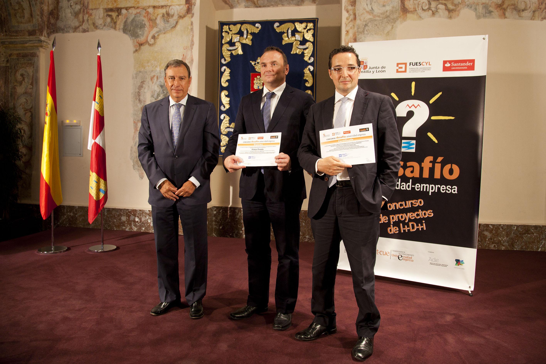 El Grupo Bisite de la Universidad de Salamanca recoge el primer premio del concurso 'Desafío Universidad-Empresa'