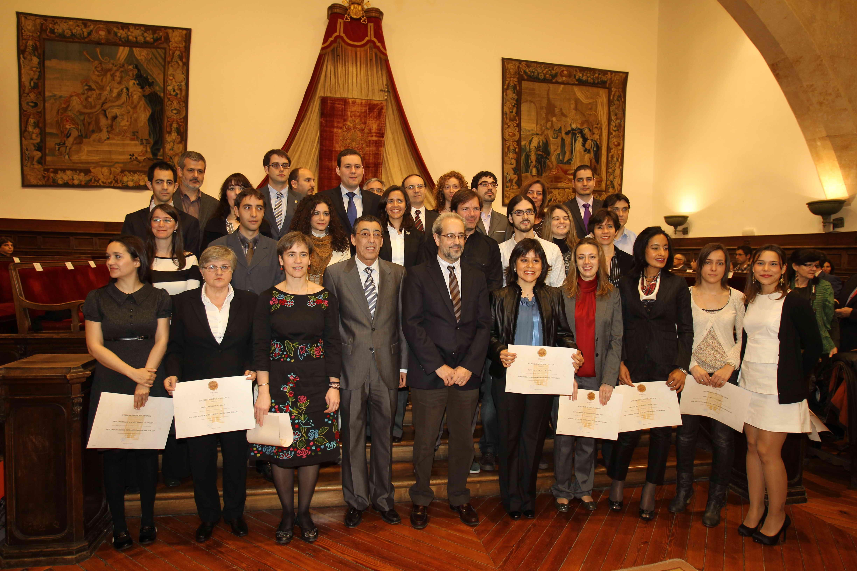 Entrega de los Premios de Extraordinarios de Doctorado