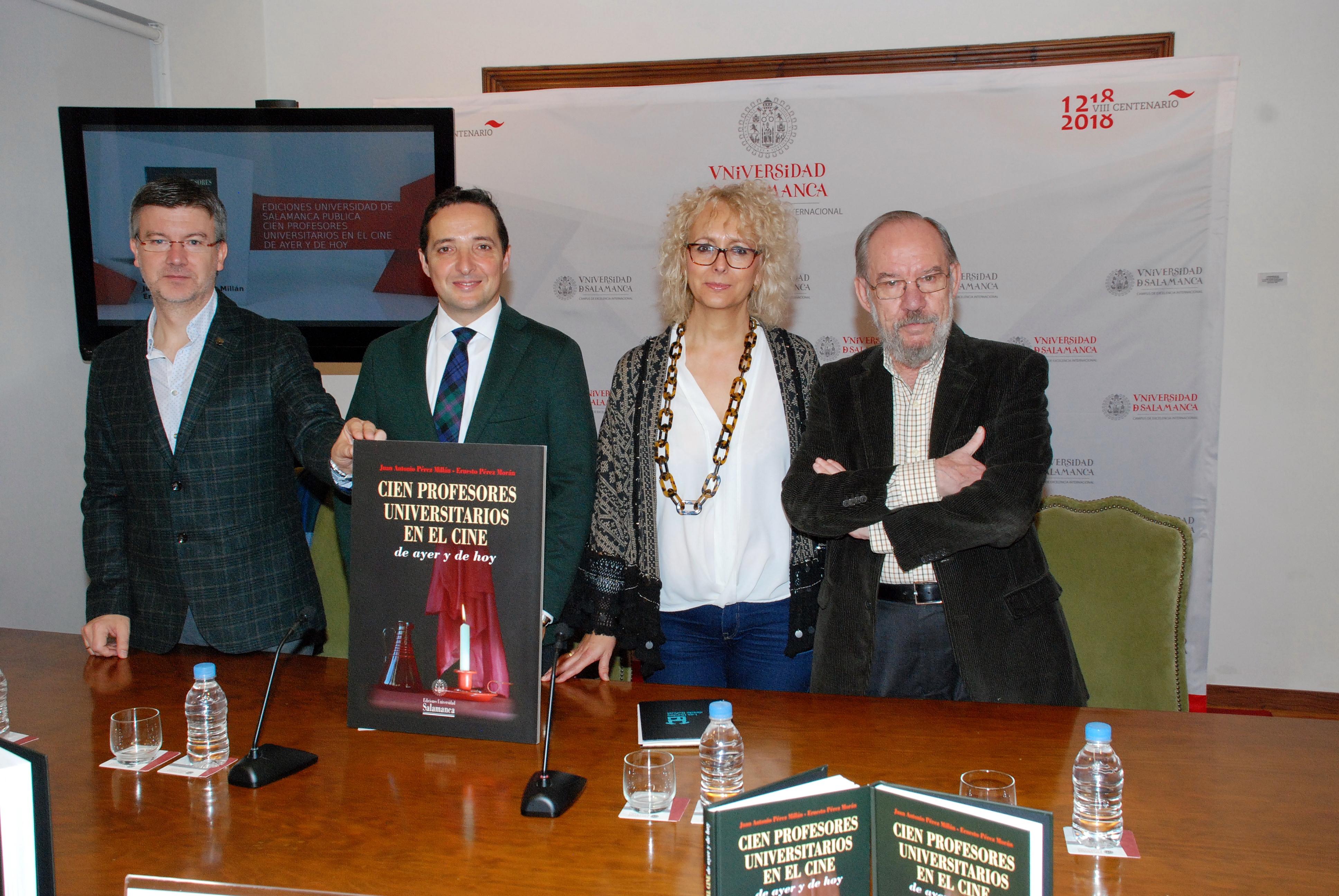 Ediciones Universidad de Salamanca reúne por primera vez en un libro 100 películas, realizadas durante 100 años, sobre la figura del profesor universitario