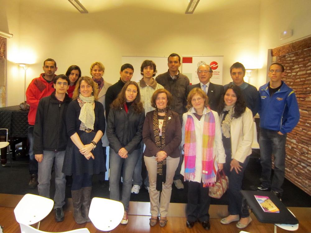 Diez nuevos estudiantes se unen al programa ProUni Internacional-Banco Santander para cursar estudios de grado en la Universidad