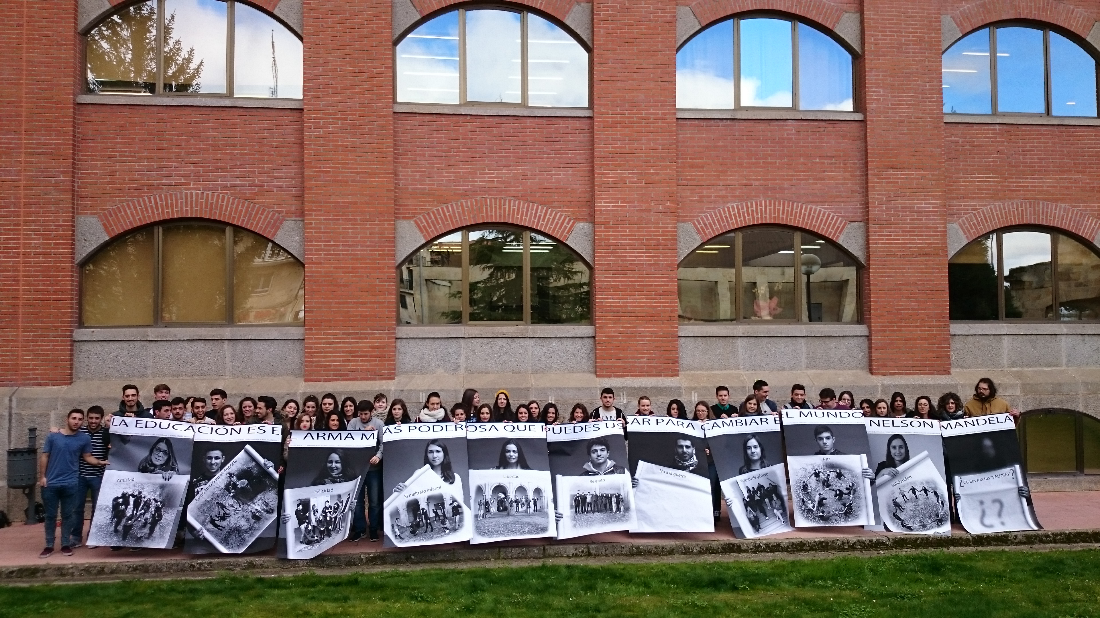 La Universidad de Salamanca participa en el proyecto cultural internacional 'Inside Out. The people's art project'