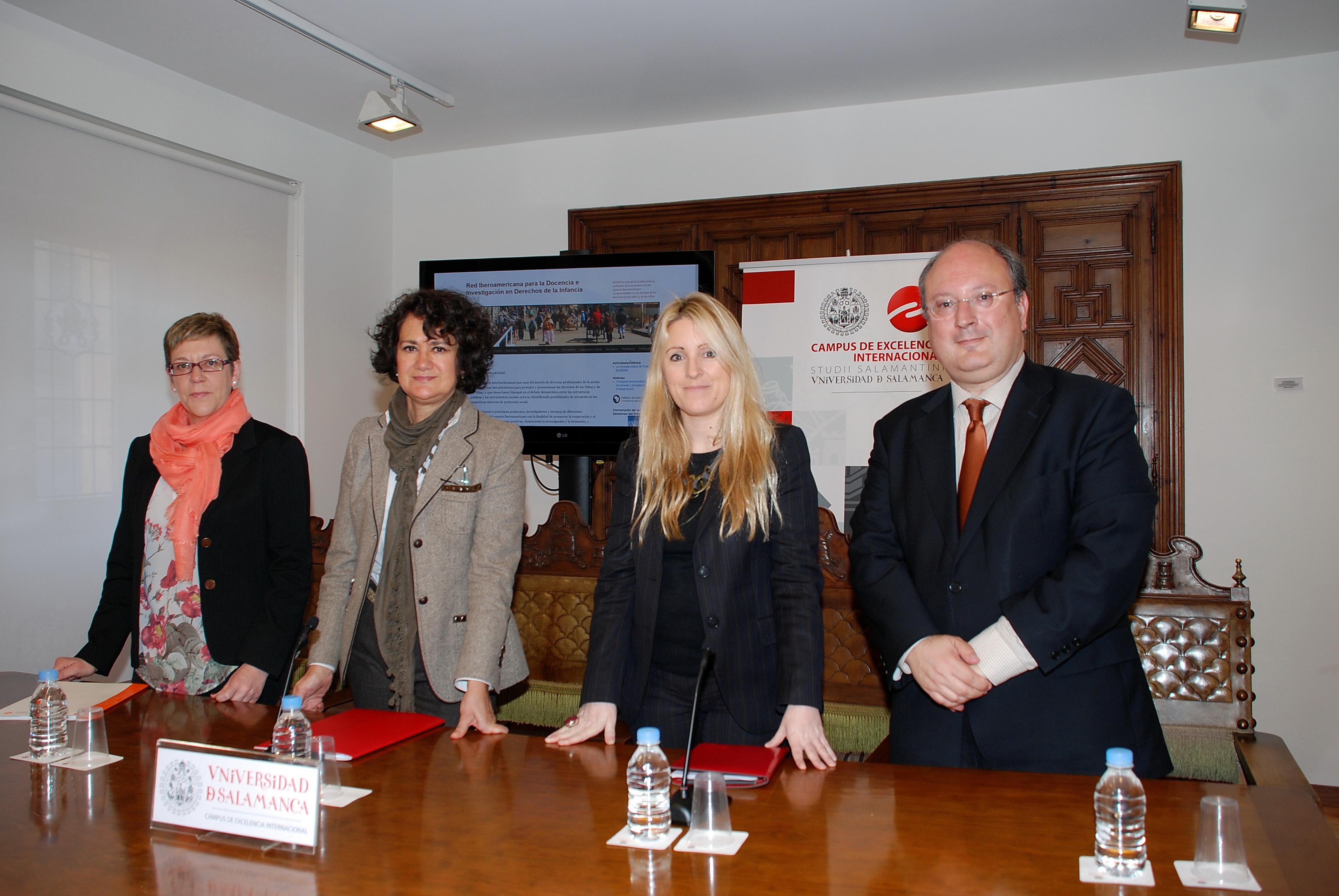 La Universidad de Salamanca presenta la plataforma digital de la Red Iberoamericana Universitaria para la Investigación de los Derechos de la Infancia