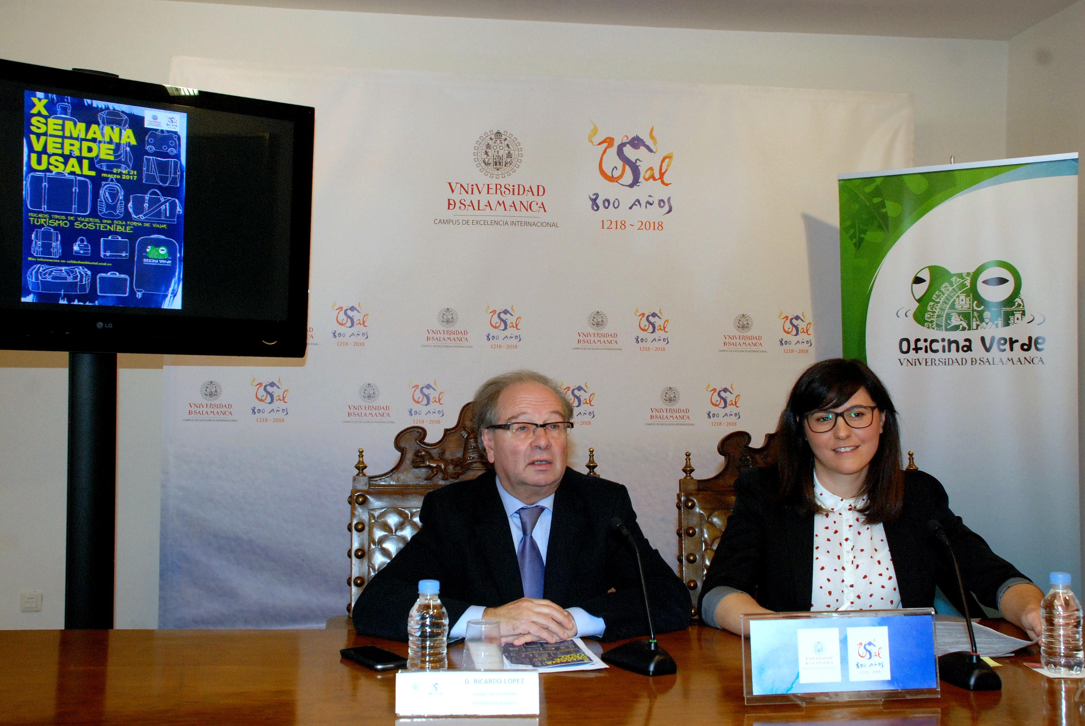 La X Semana Verde de la Universidad de Salamanca abordará el turismo sostenible