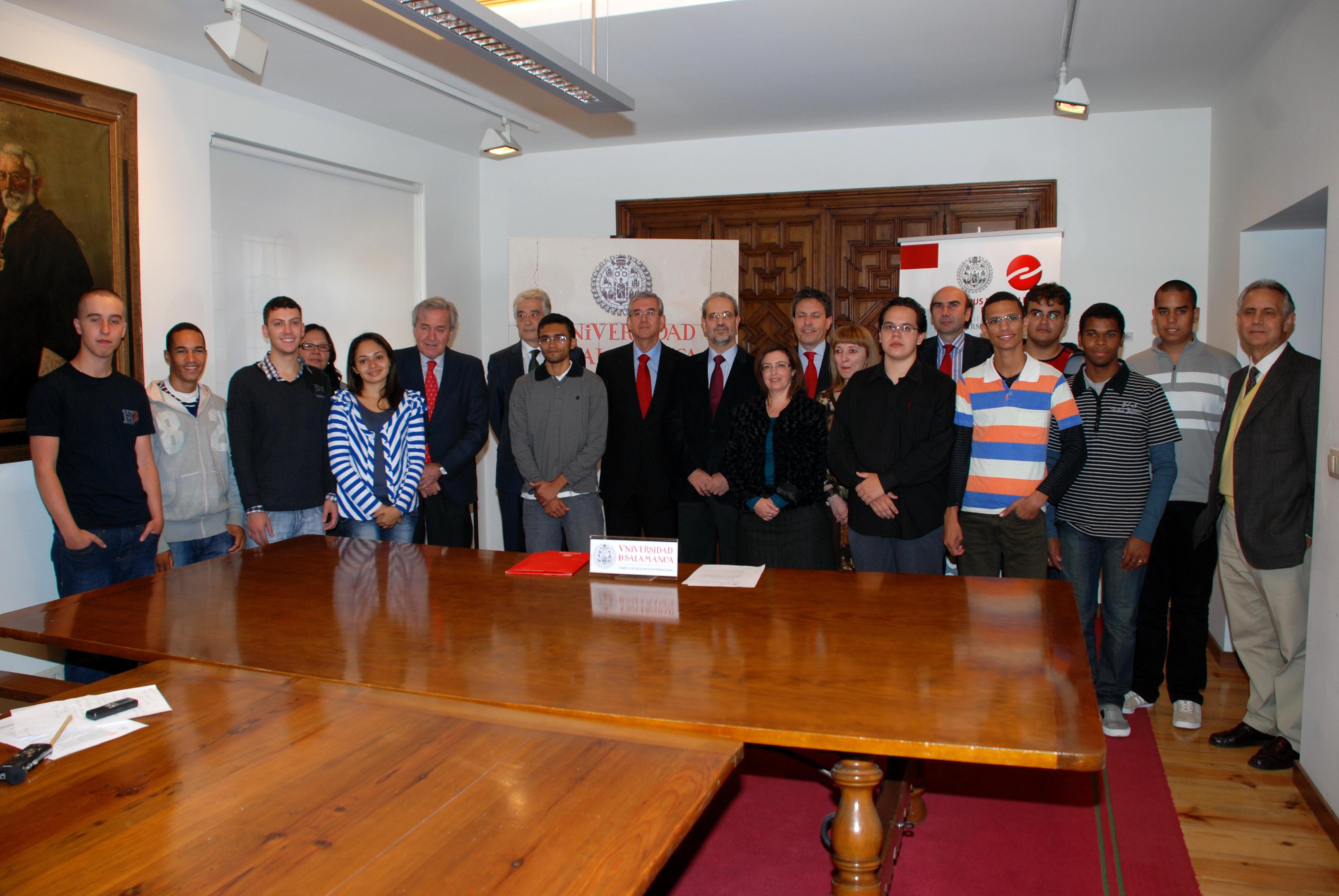 El Programa Universidad para Todos ProUni/Universidad de Salamanca amplía su segunda fase con 80 nuevos estudiantes brasileños
