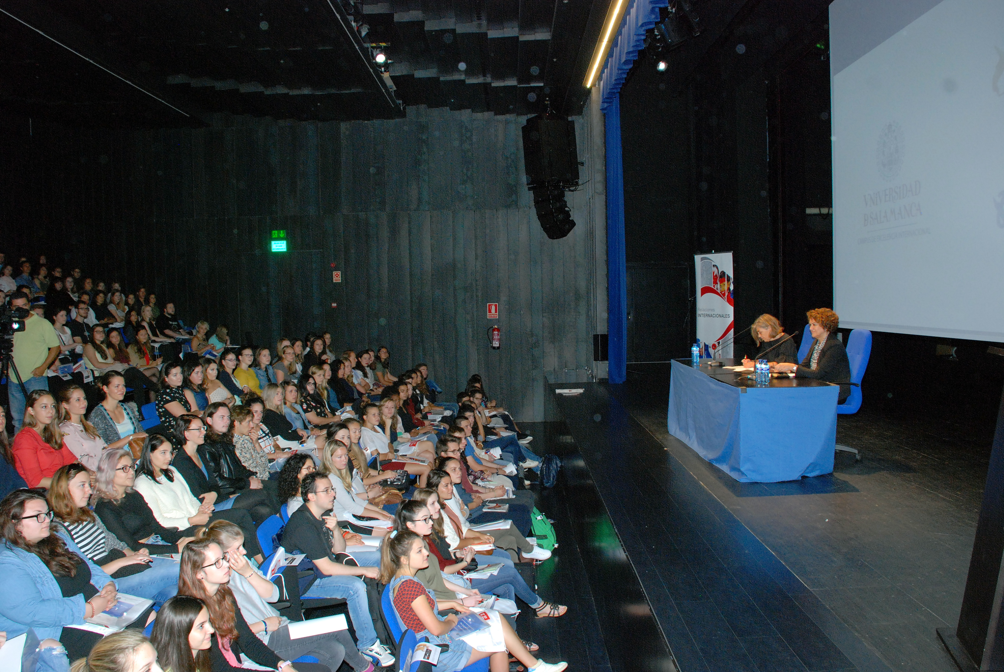 La Universidad de Salamanca recibe a cerca de 750 estudiantes de los programas de movilidad internacional