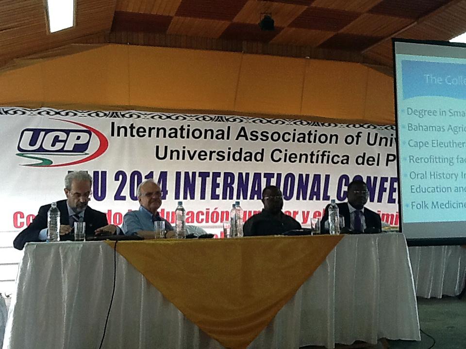 La Universidad de Salamanca participa en un congreso internacional en Perú sobre el papel de las universidades en el desarrollo sostenible