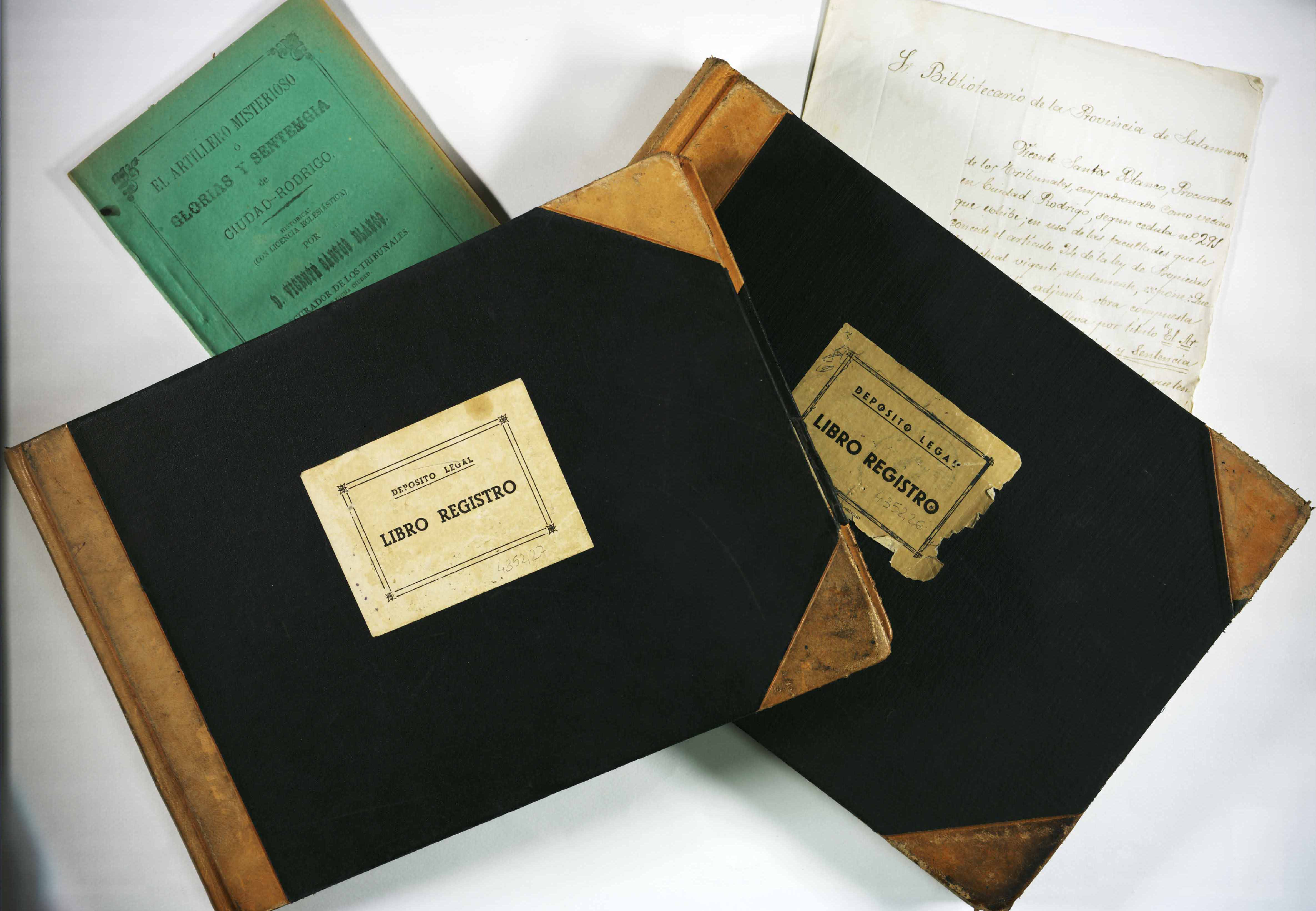 La Universidad de Salamanca hace público los fondos de los archivos de los Registros de la Propiedad Intelectual y el Deposito Legal de la provincia