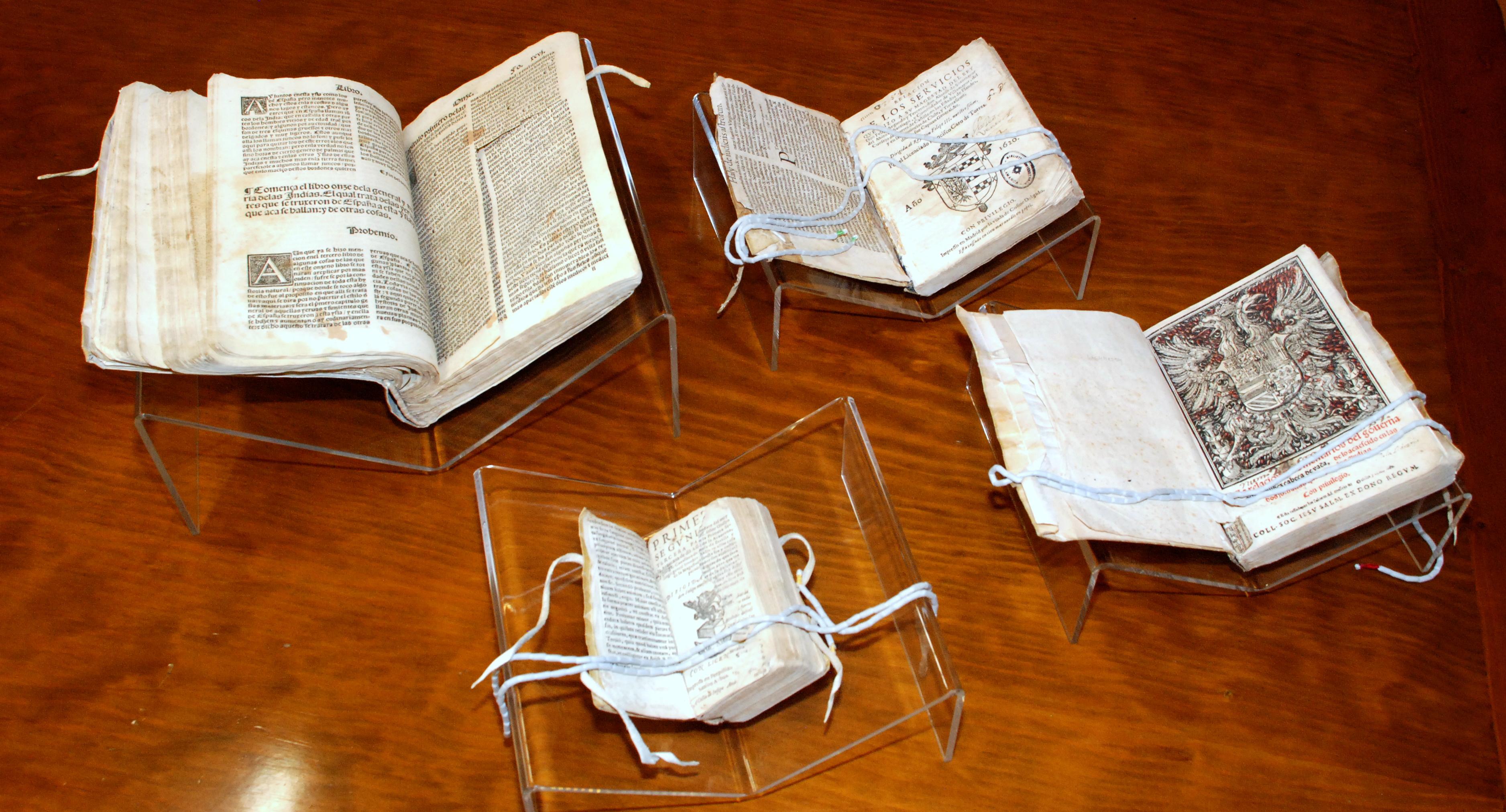 Fundación Reale impulsará la restauración de cuatro libros del patrimonio bibliográfico y documental de la Biblioteca Histórica de la Universidad de Salamanca