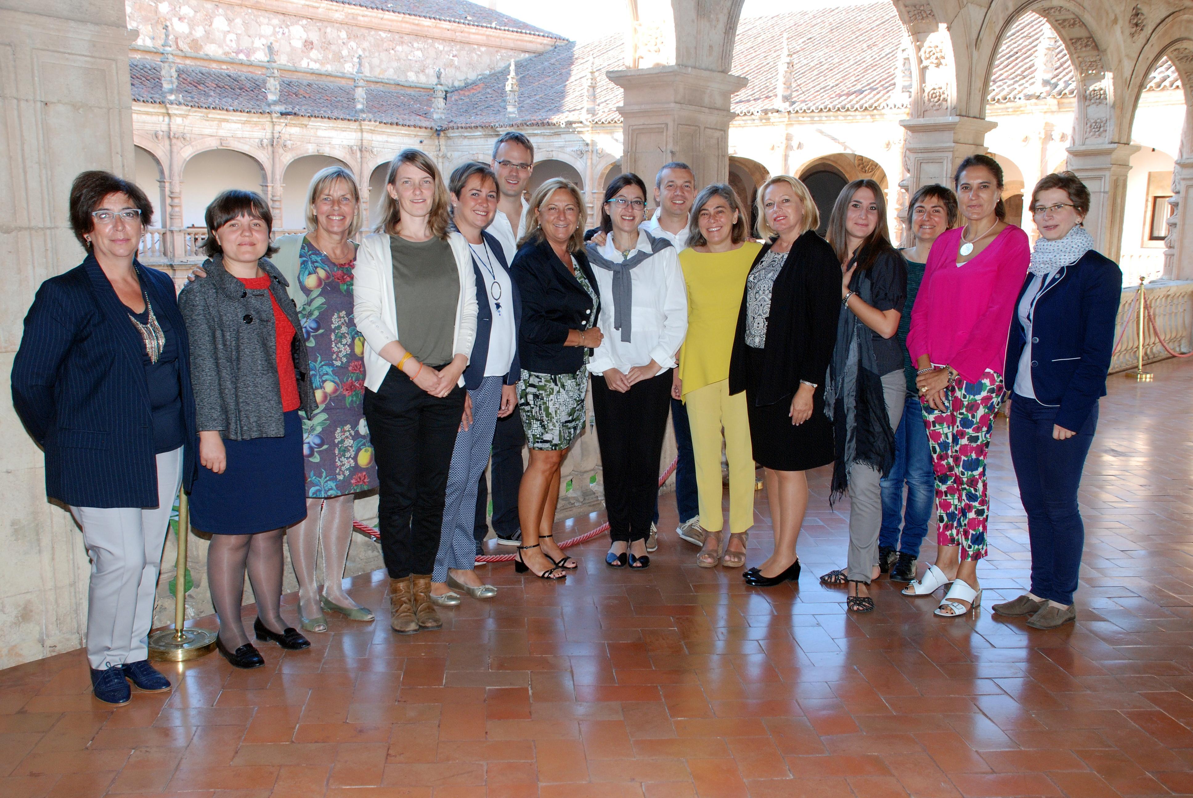 La Universidad de Salamanca acoge la reunión del Programa ICARD, en el marco de la iniciativa europea Erasmus+