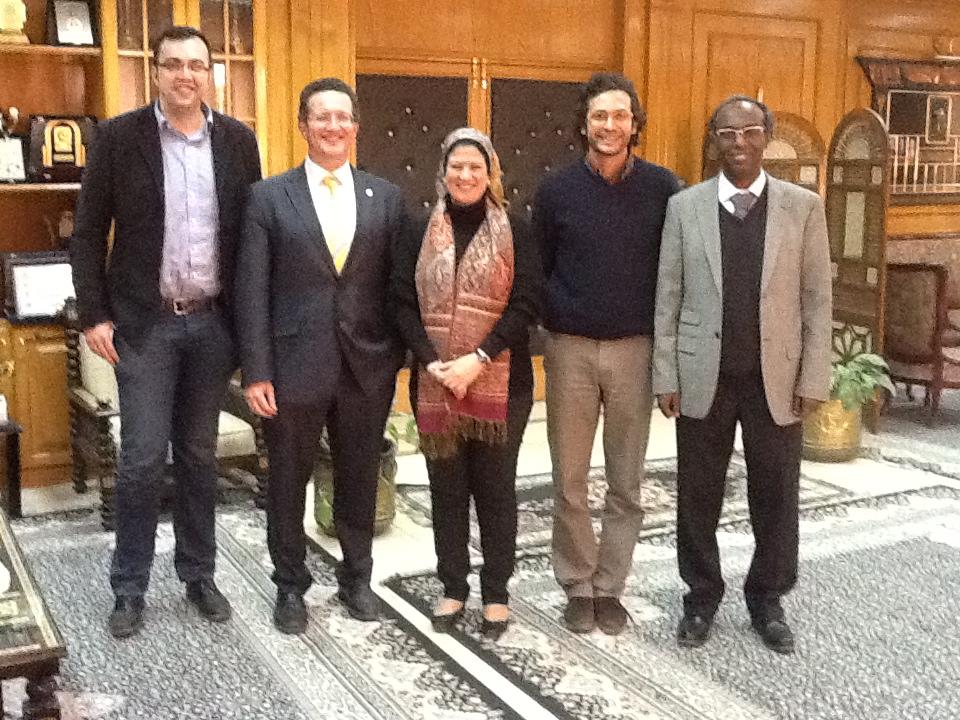 La Universidad de Salamanca y seis universidades egipcias estudian la creación de un nuevo título conjunto sobre la enseñanza del español