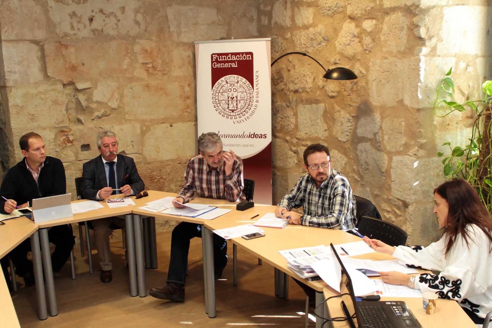 La Fundación General de la Universidad de Salamanca organiza la reunión hispanolusa sobre emprendimiento transfronterizo del programa BINSAL EMPRENDE