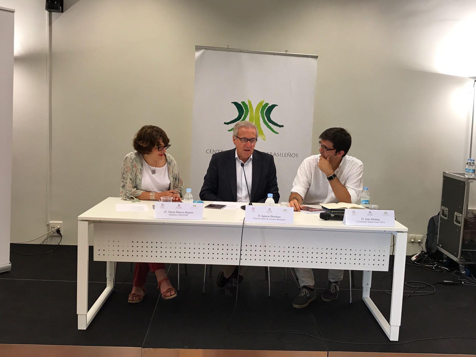 Rueda de prensa: El Centro de Estudios Brasileños de la Universidad de Salamanca organiza la IV edición del Congreso Internacional de Historia, Literatura y Arte en el Cine en Español y Portugués
