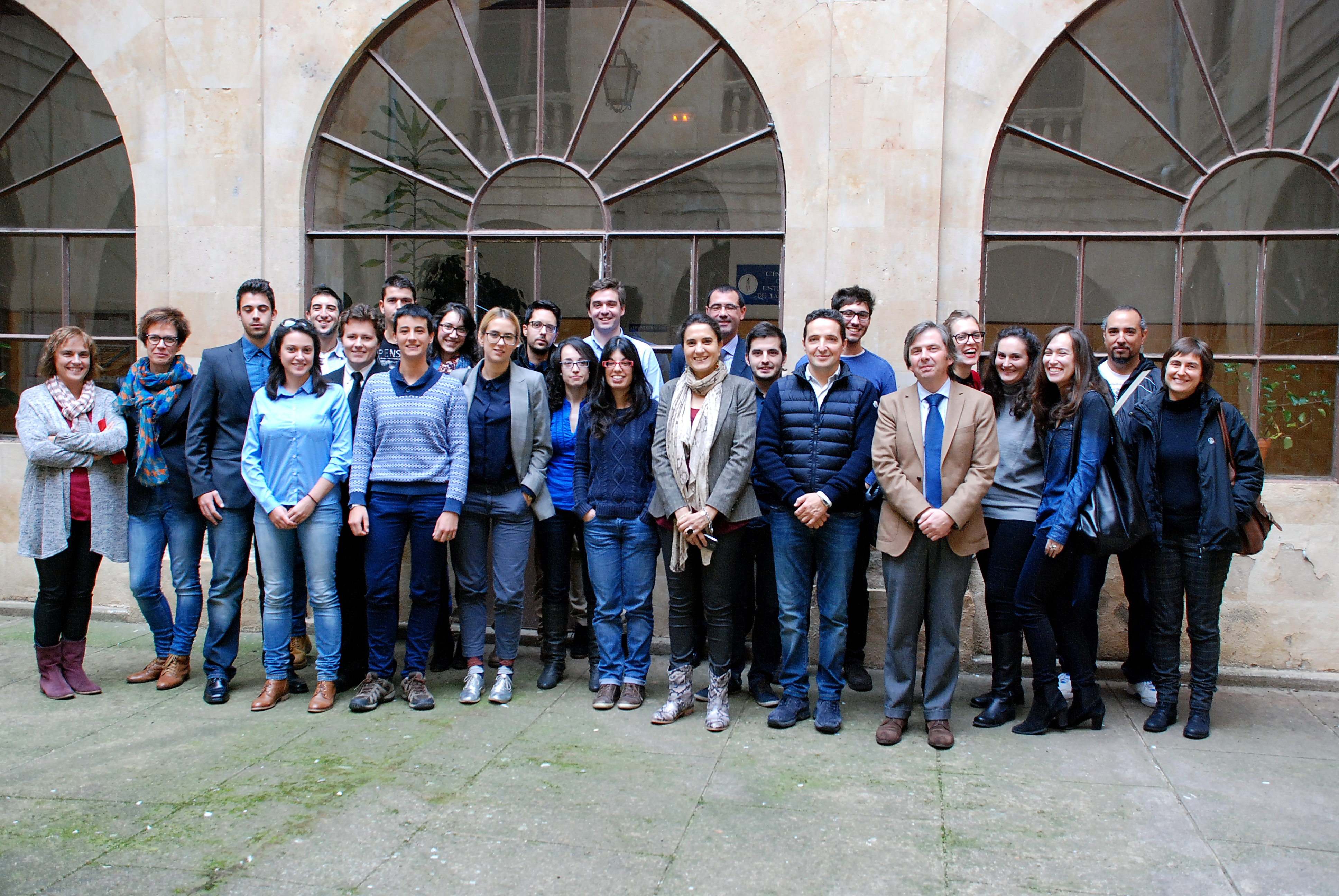El vicerrector de Investigación y Transferencia, Juan Manuel Corchado, clausura el curso sobre iniciativa emprendedora